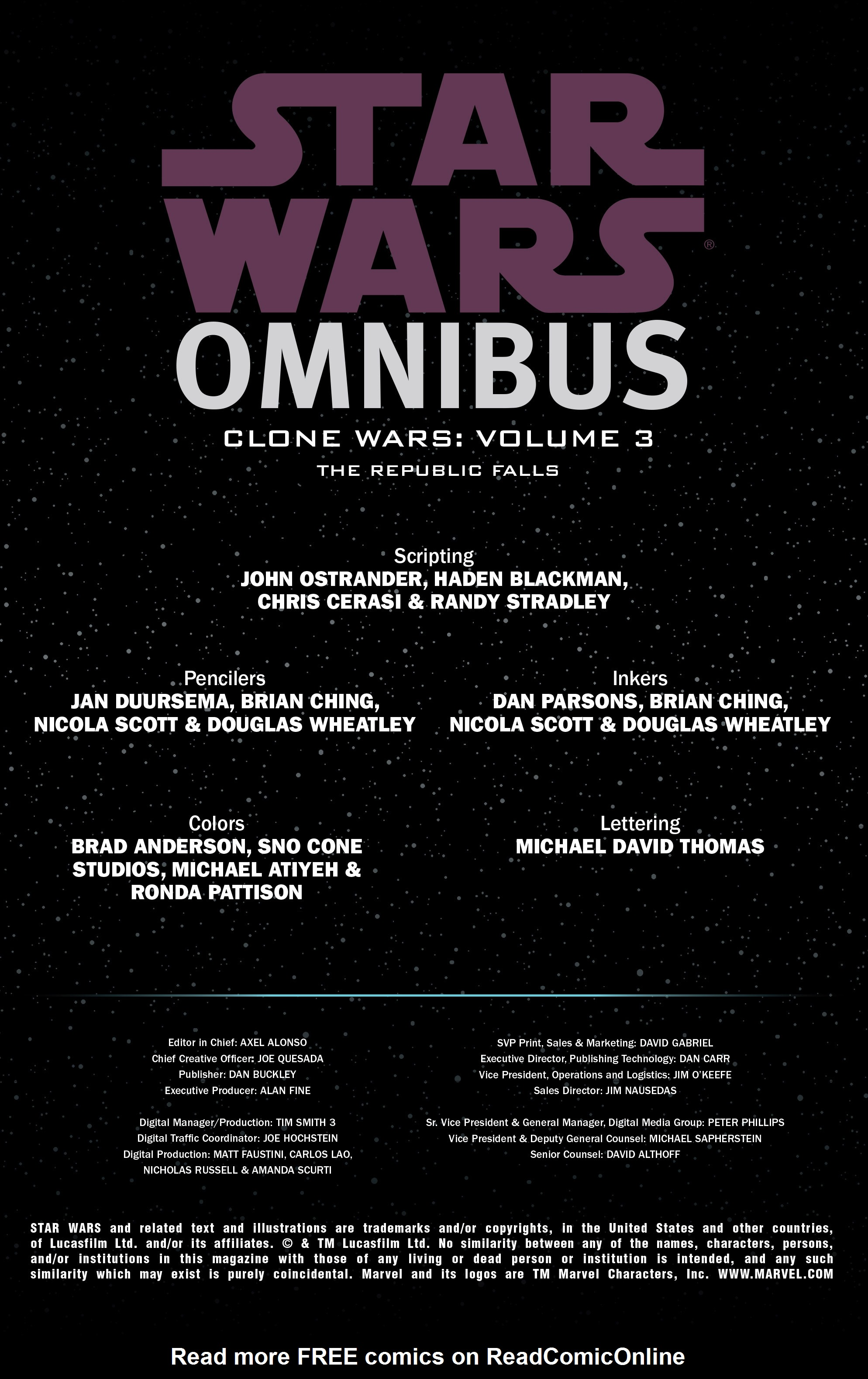 Read online Star Wars Omnibus comic -  Issue # Vol. 26 - 2