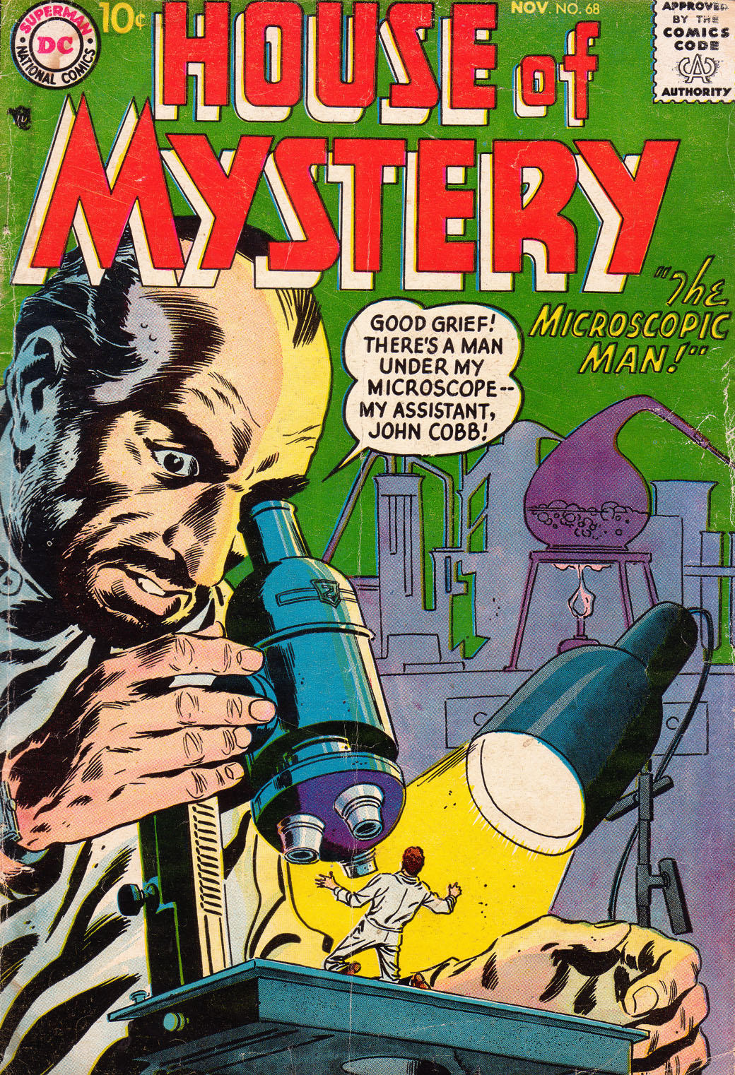 House of Mystery (1951) issue 68 - Page 1