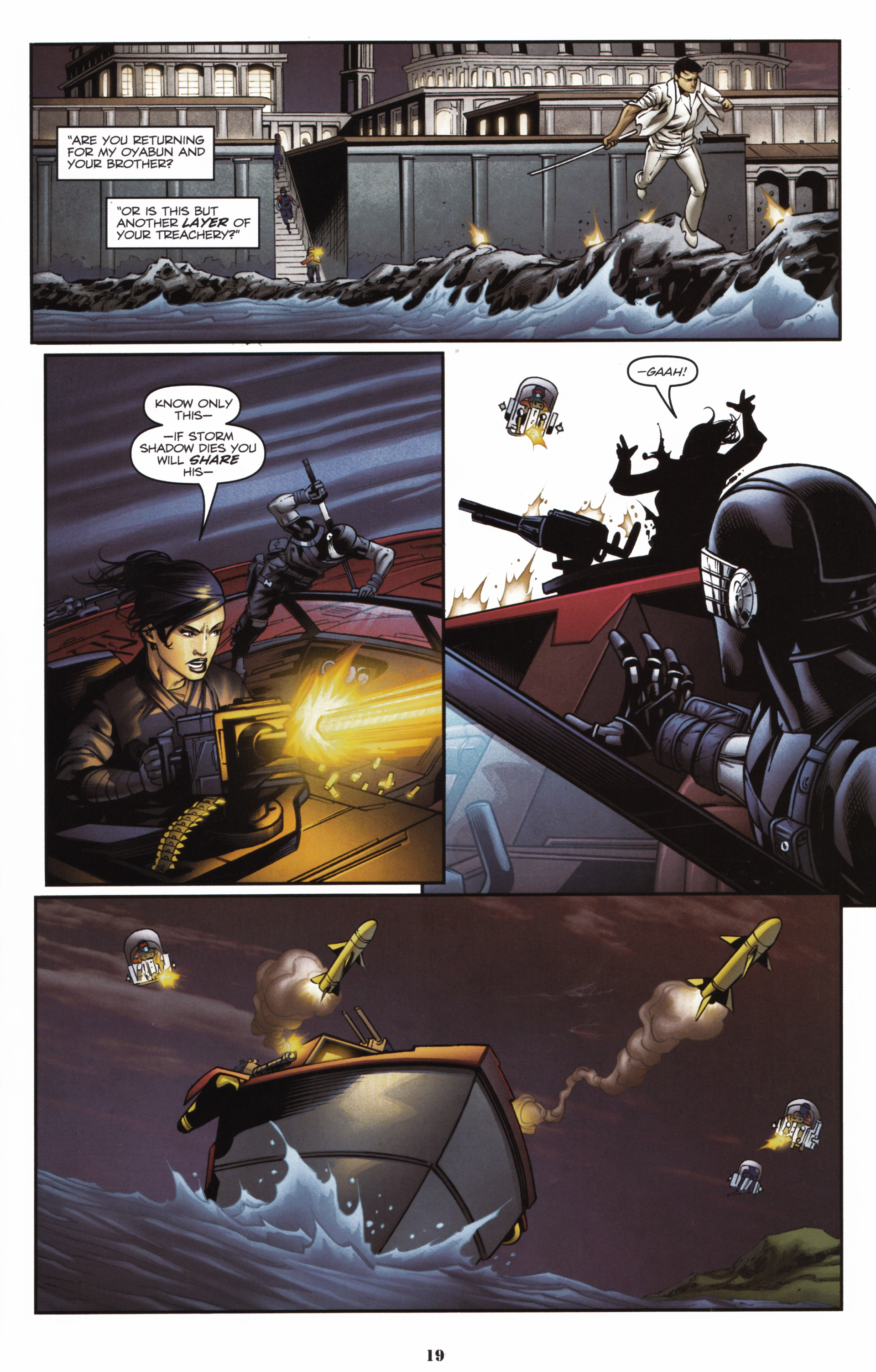 Read online Snake Eyes and Storm Shadow comic -  Issue #16 - 21