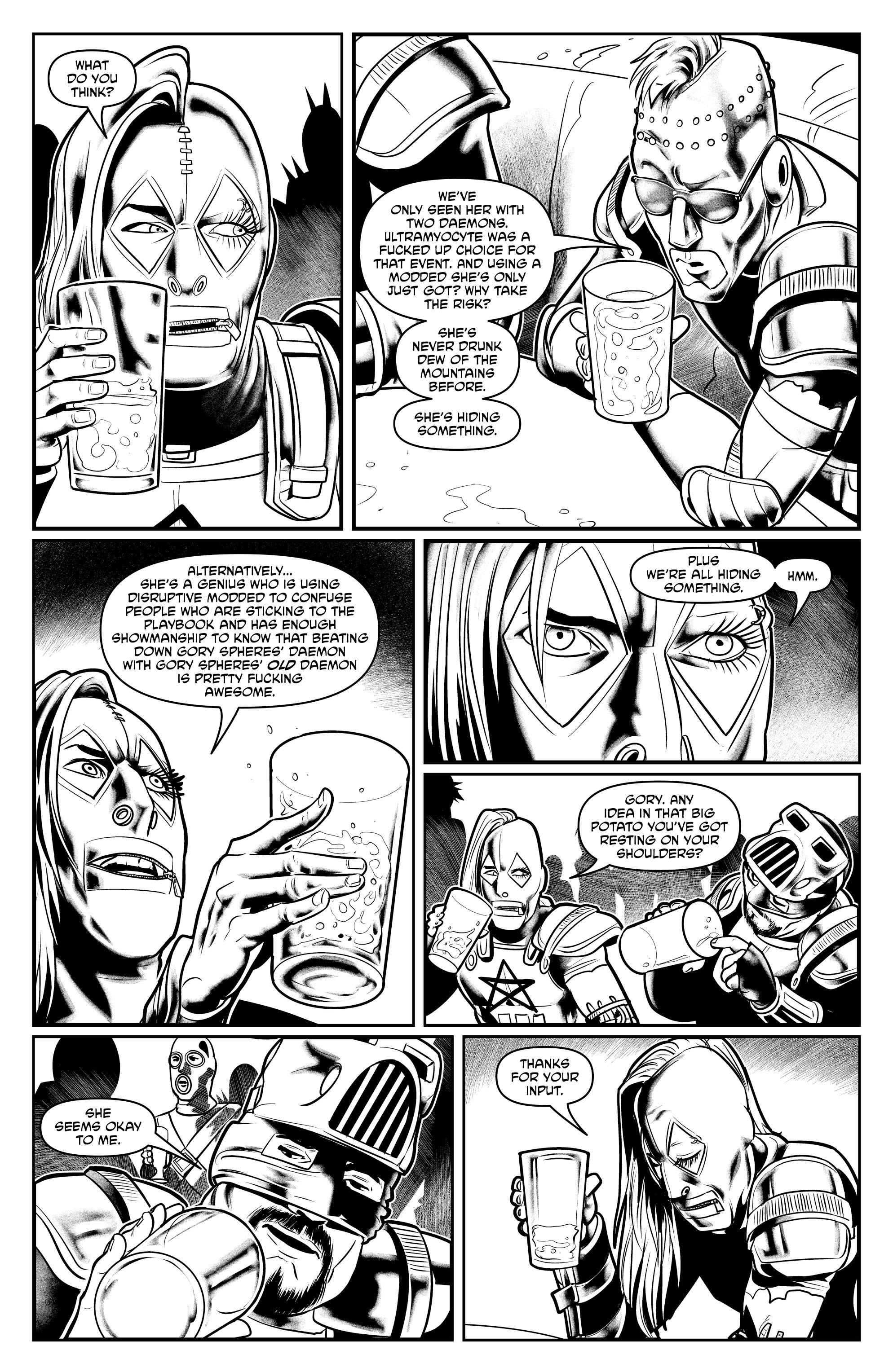 Read online Alan Moore's Cinema Purgatorio comic -  Issue #9 - 39