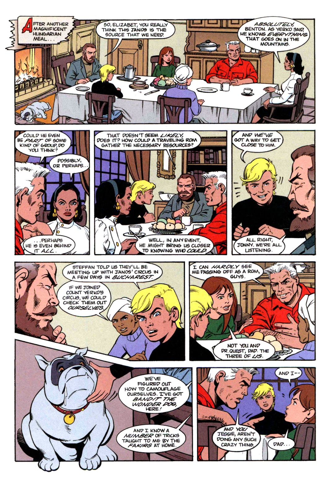 Read online The Real Adventures of Jonny Quest comic -  Issue #1 - 24
