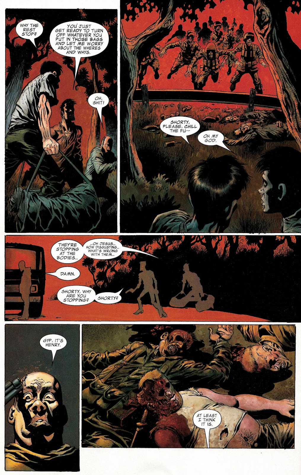 Read online Zombie (2006) comic -  Issue #1 - 17