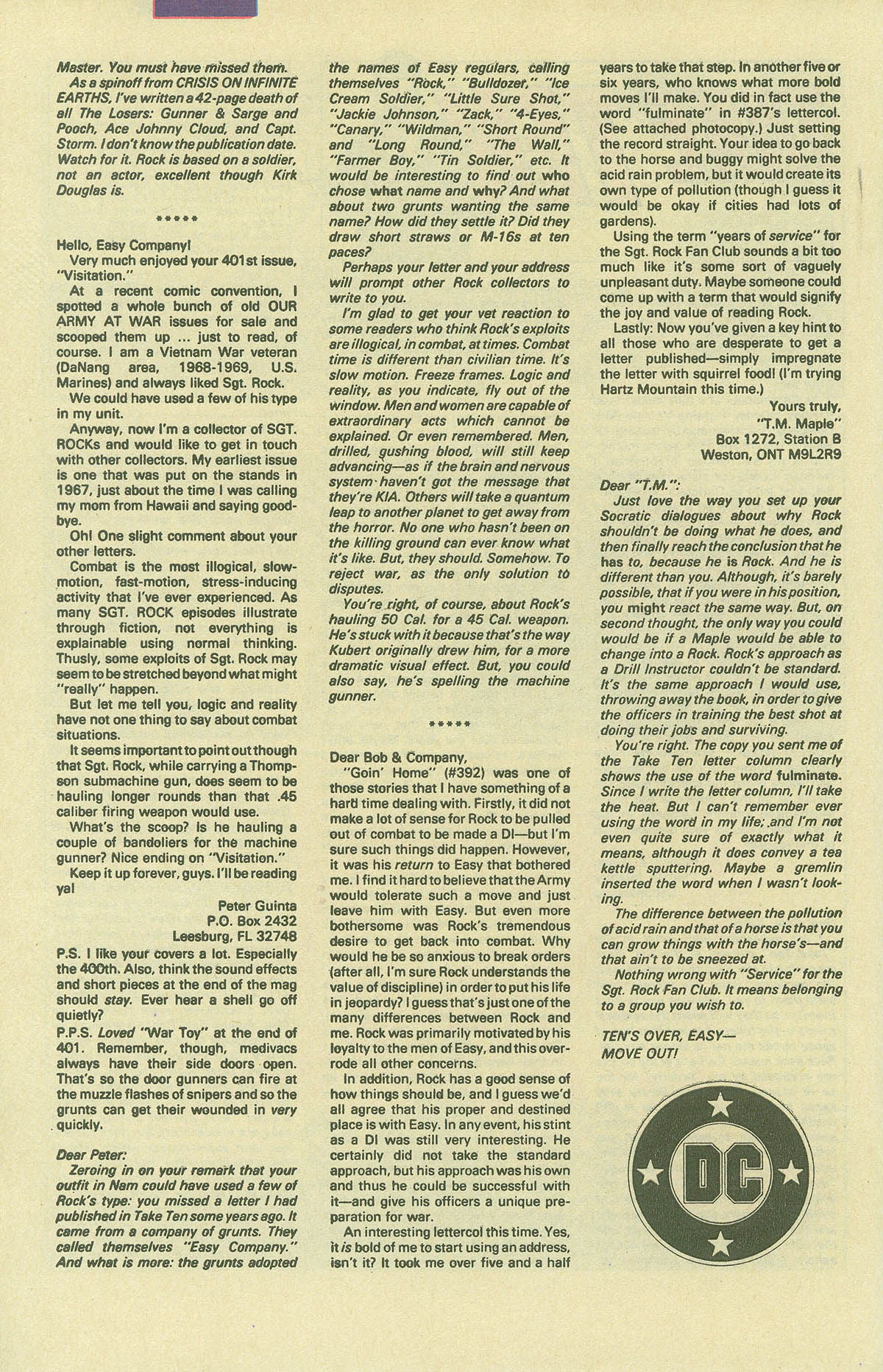 Read online Sgt. Rock comic -  Issue #406 - 33