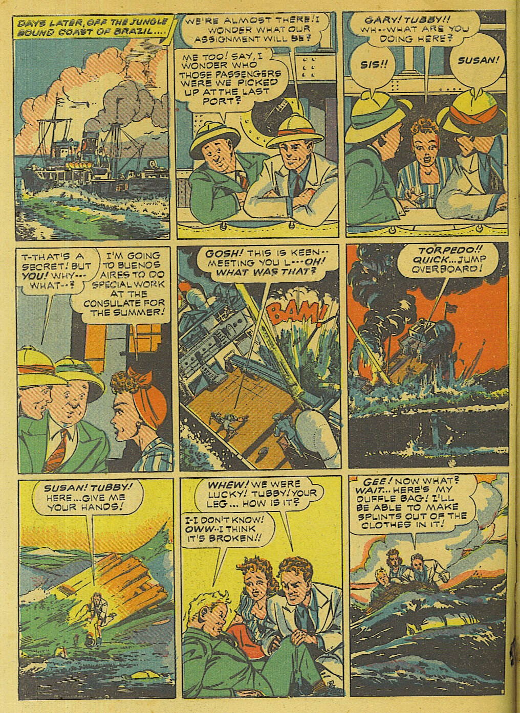 Green Hornet Comics issue 10 - Page 3