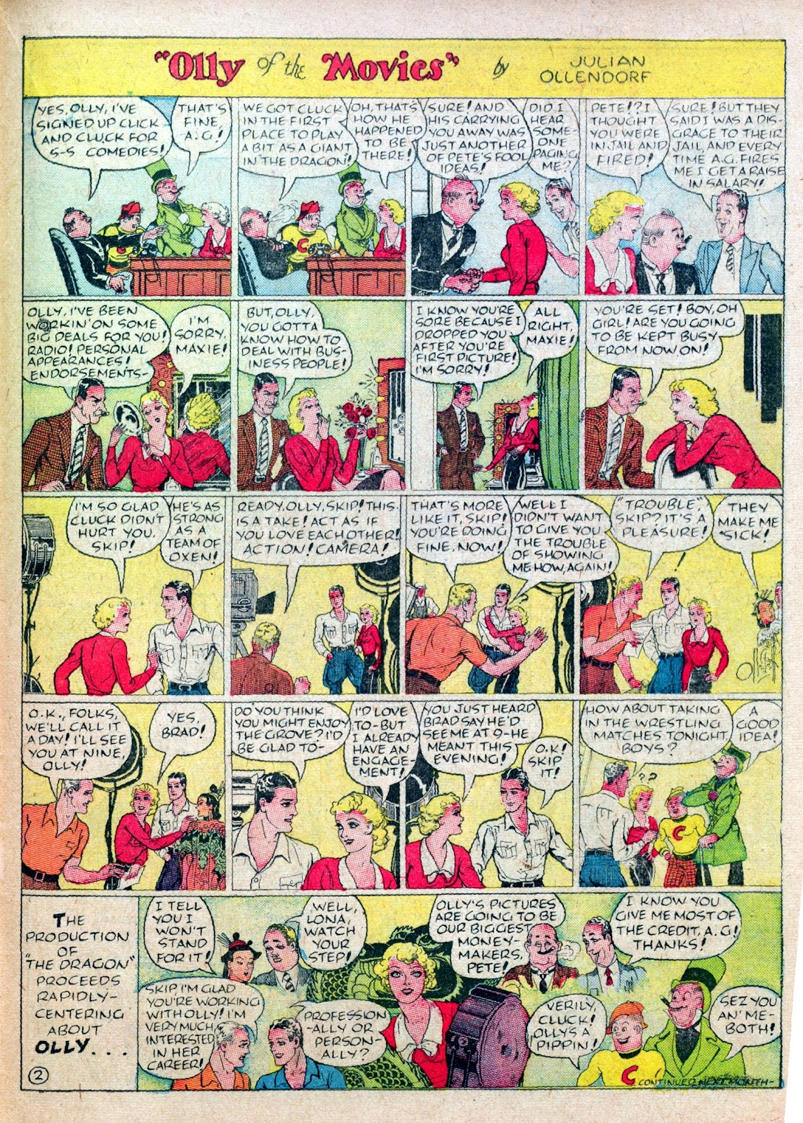 Read online Famous Funnies comic -  Issue #45 - 45