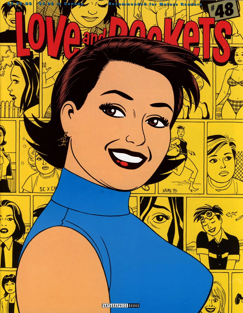 Love and Rockets (1982) issue 48 - Page 1