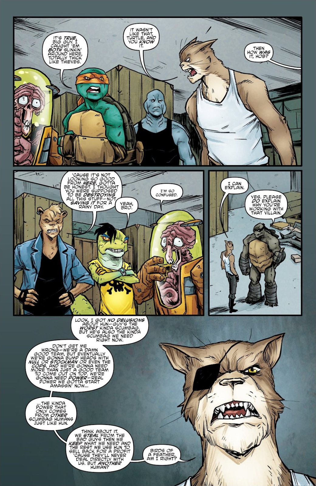 Read online Teenage Mutant Ninja Turtles: The IDW Collection comic -  Issue # TPB 7 (Part 1) - 92