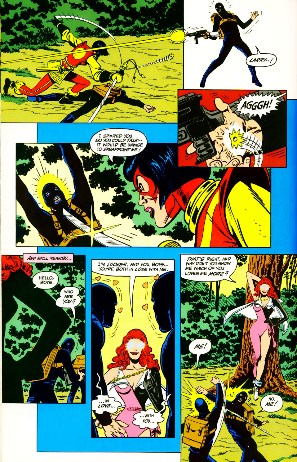 Read online Adventures of the Outsiders comic -  Issue #39 - 20