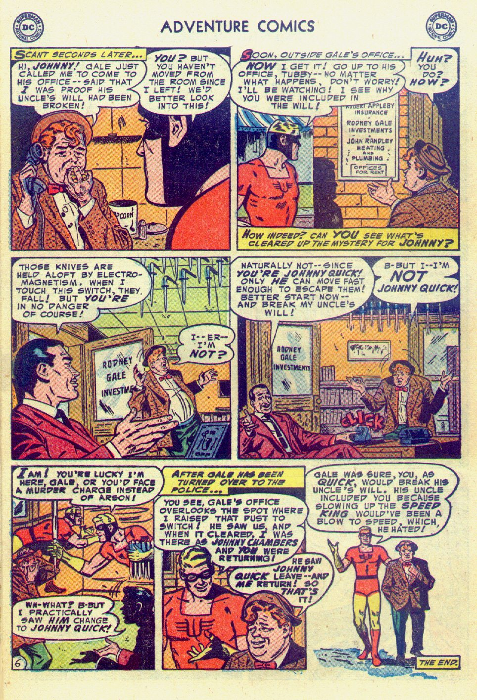 Read online Adventure Comics (1938) comic -  Issue #201 - 30