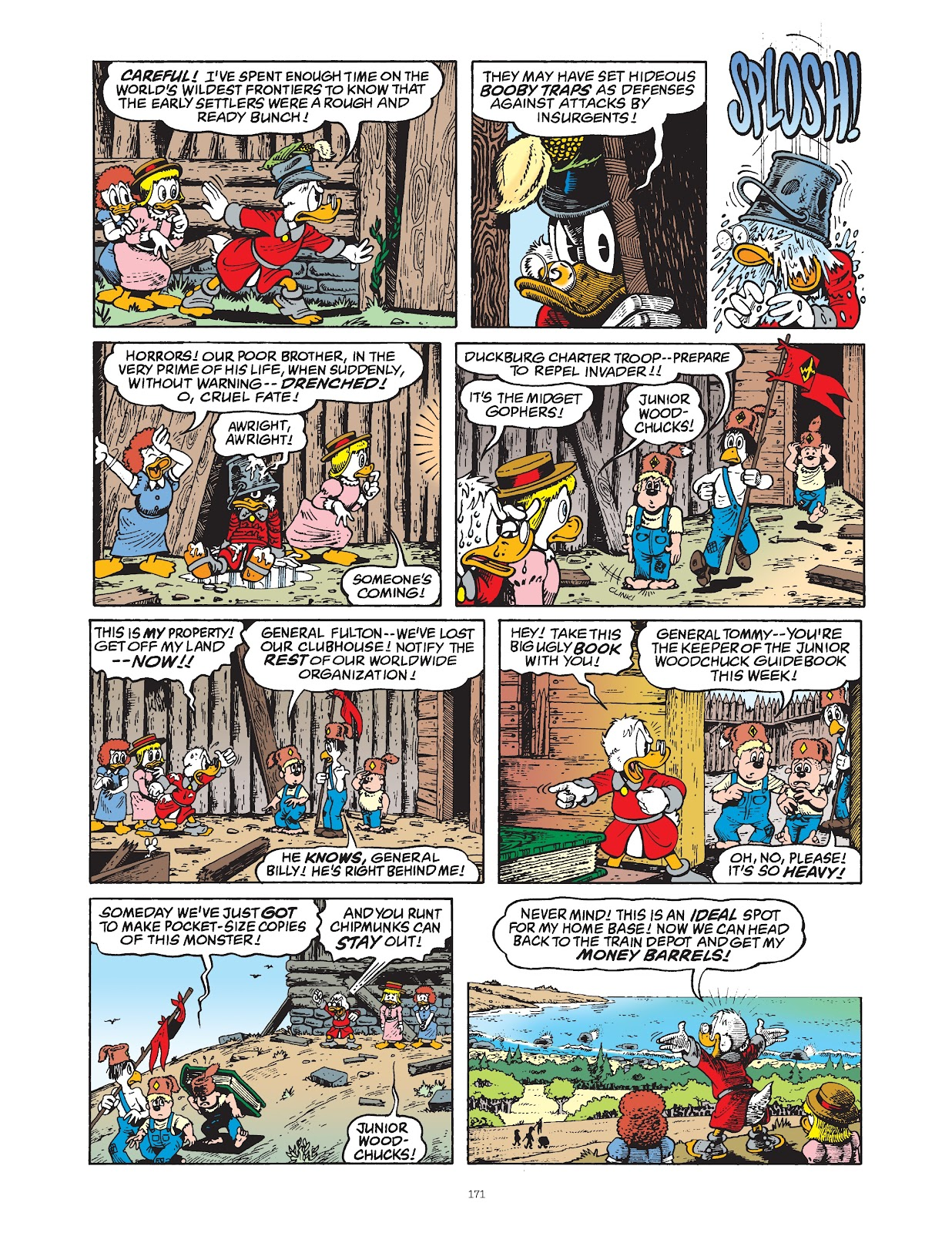 Read online The Complete Life and Times of Scrooge McDuck comic -  Issue # TPB 1 (Part 2) - 67