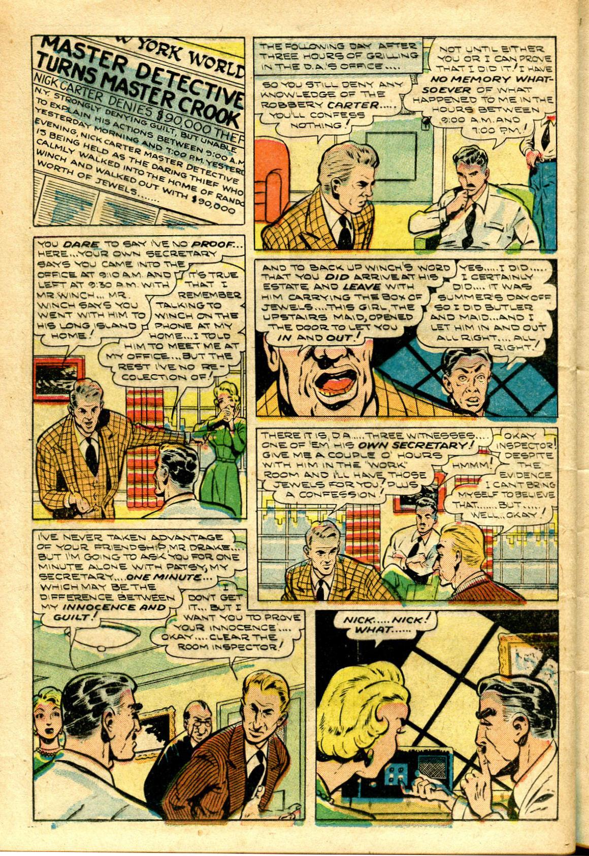 Read online Shadow Comics comic -  Issue #96 - 32