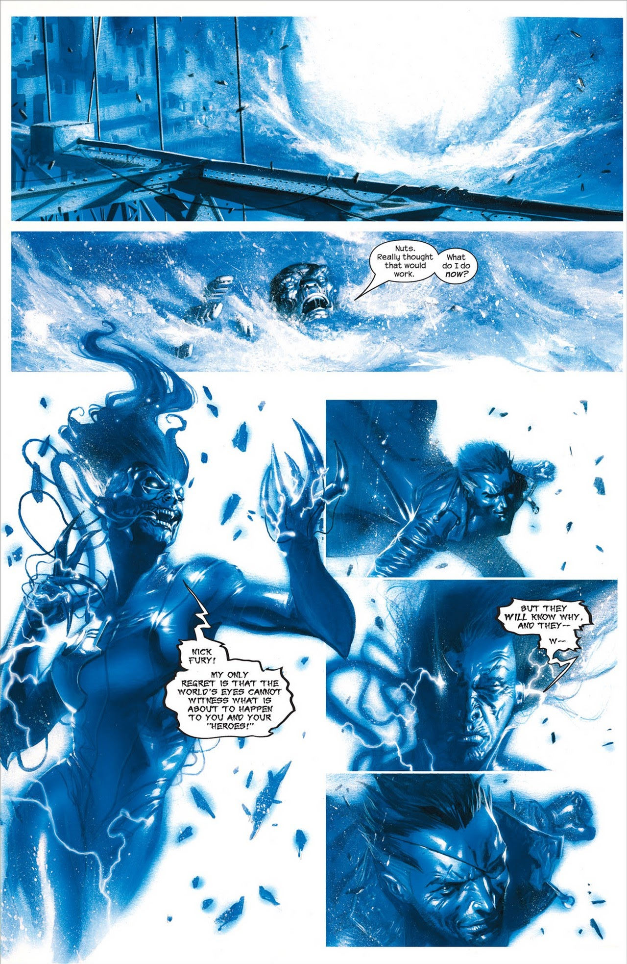 Secret War #5 #6 - English 9