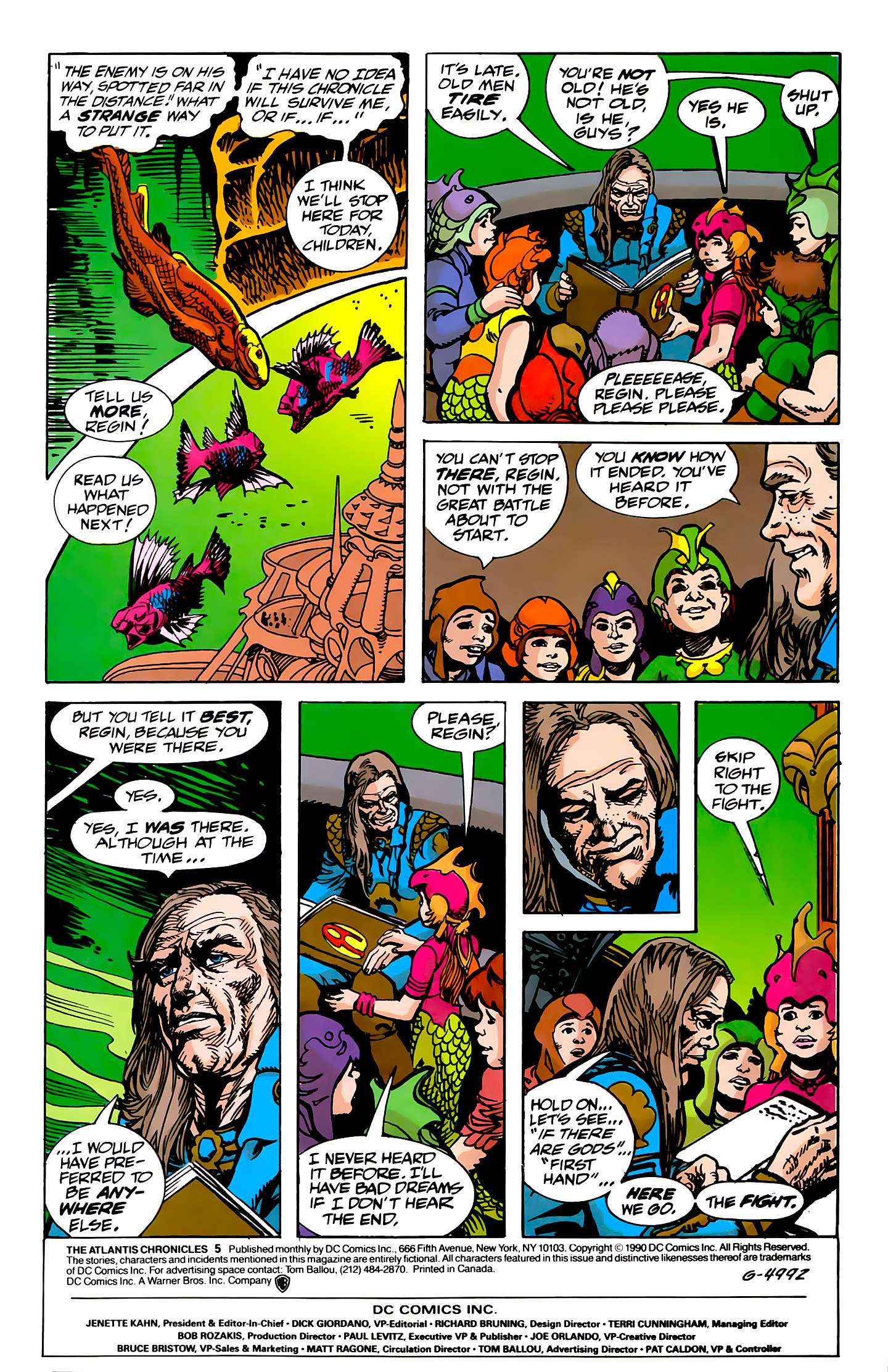 Read online Atlantis Chronicles comic -  Issue #5 - 4