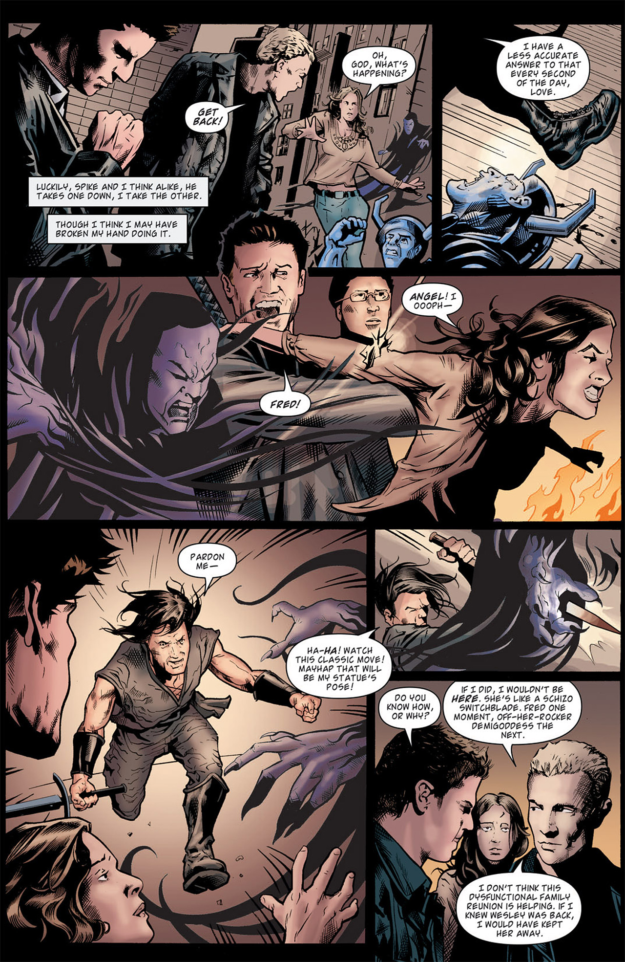 Read online Angel: After The Fall comic -  Issue #9 - 6
