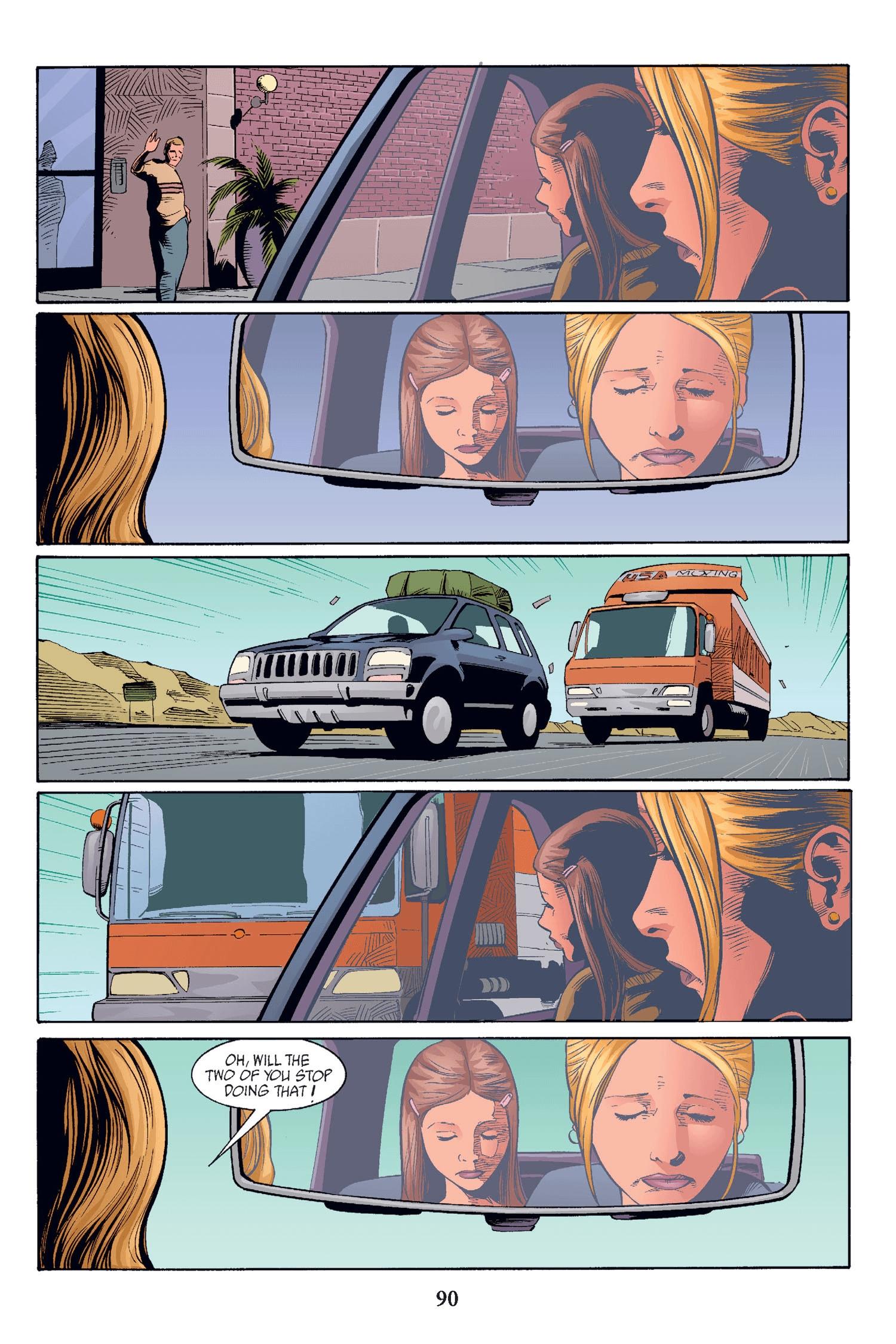 Read online Buffy the Vampire Slayer: Omnibus comic -  Issue # TPB 2 - 87