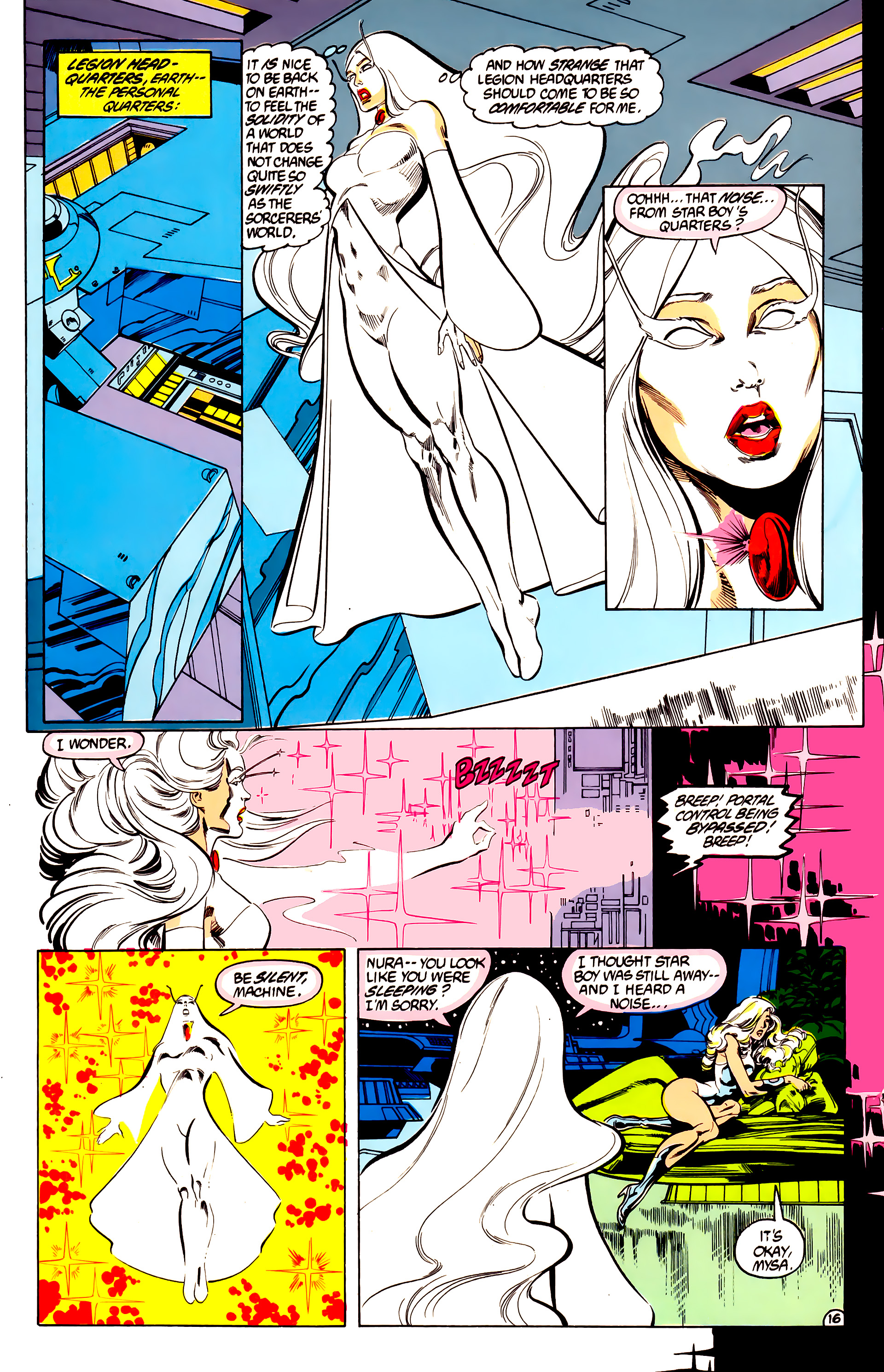 Legion of Super-Heroes (1984) 28 Page 17