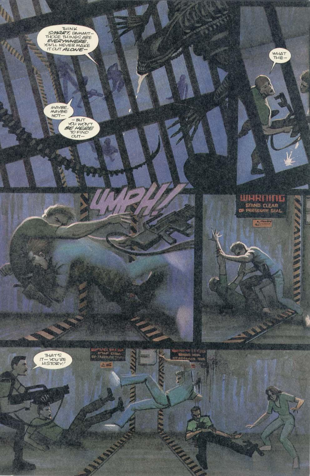 Read online Aliens (1989) comic -  Issue #4 - 9