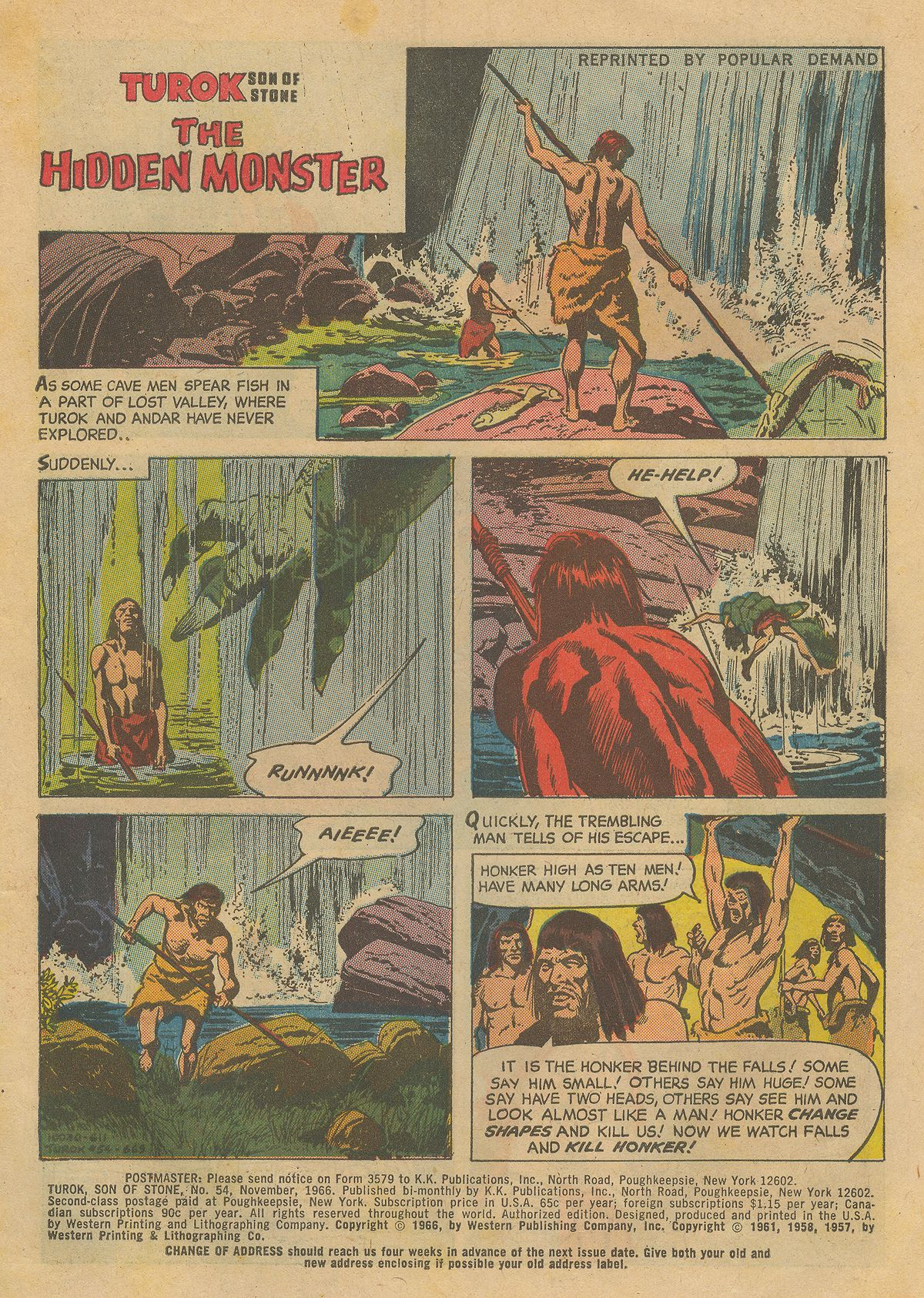 Read online Turok, Son of Stone comic -  Issue #54 - 3