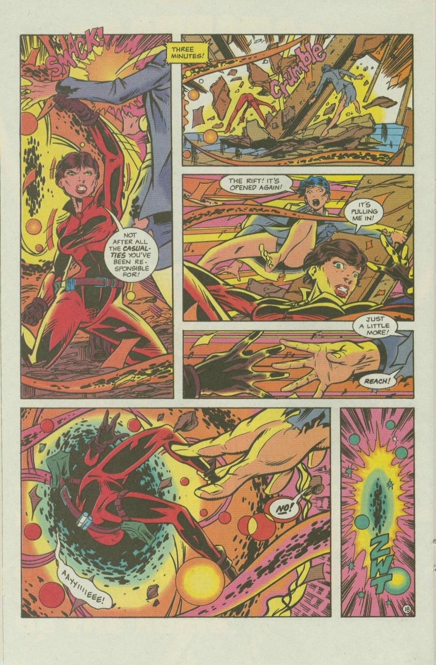 Read online Ex-Mutants comic -  Issue #8 - 23