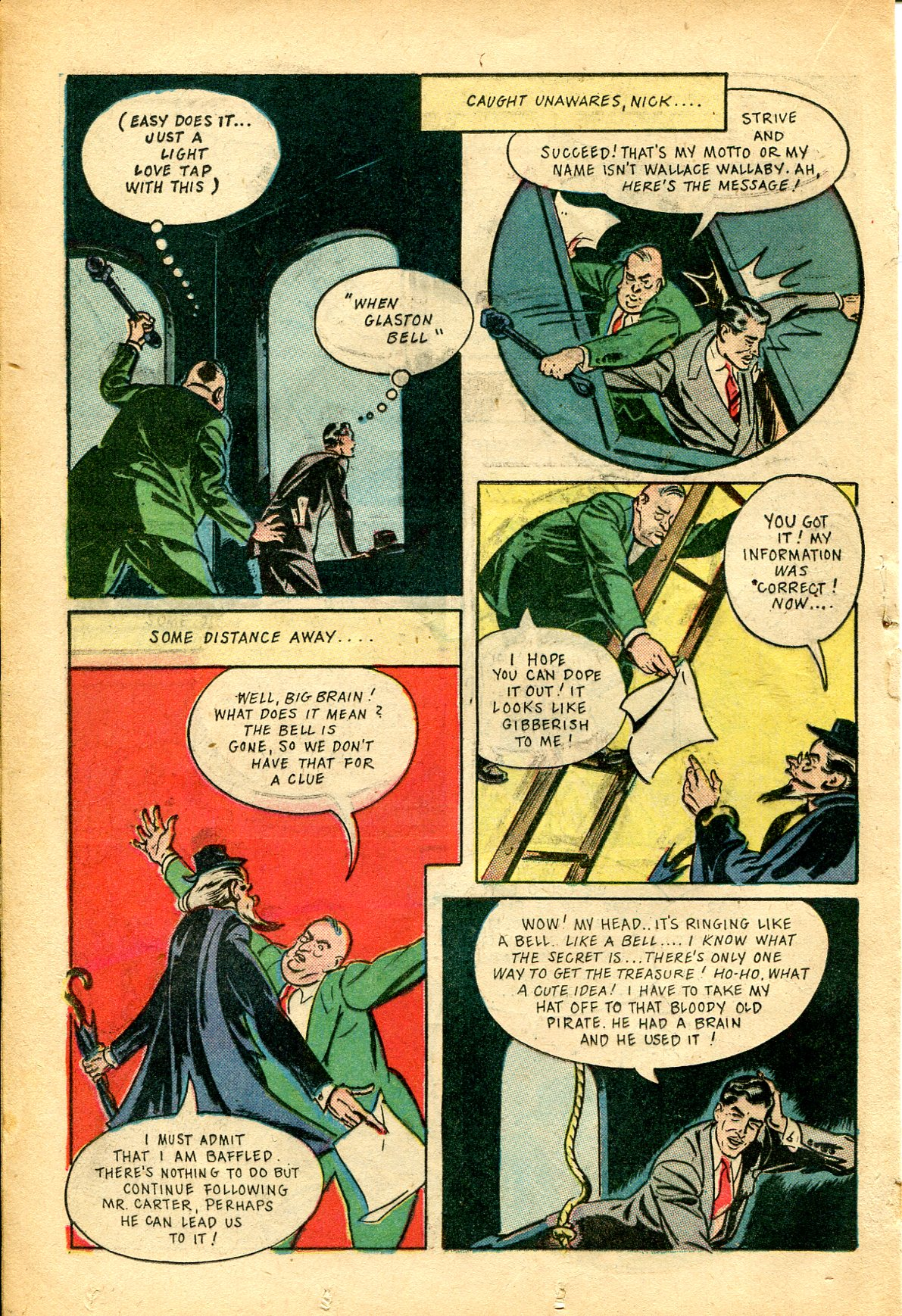 Read online Shadow Comics comic -  Issue #51 - 31