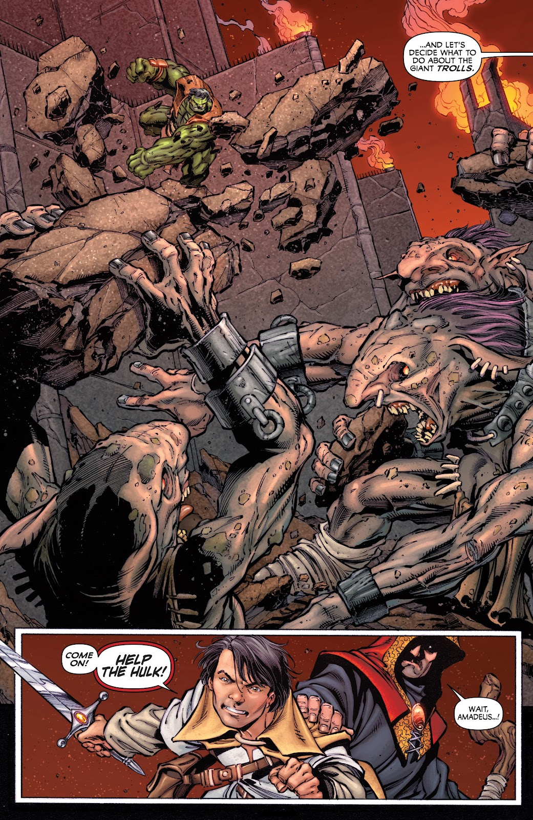 Read online Incredible Hulks (2010) comic -  Issue # _TPB Heart of the Monster - 85
