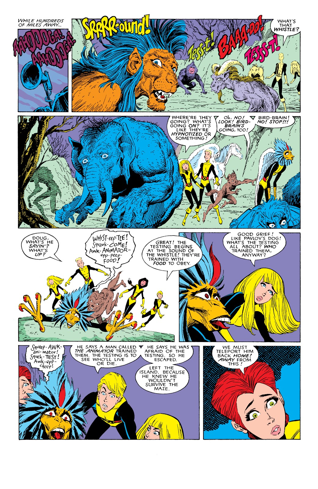 Read online X-Men Milestones: Fall of the Mutants comic -  Issue # TPB (Part 2) - 3