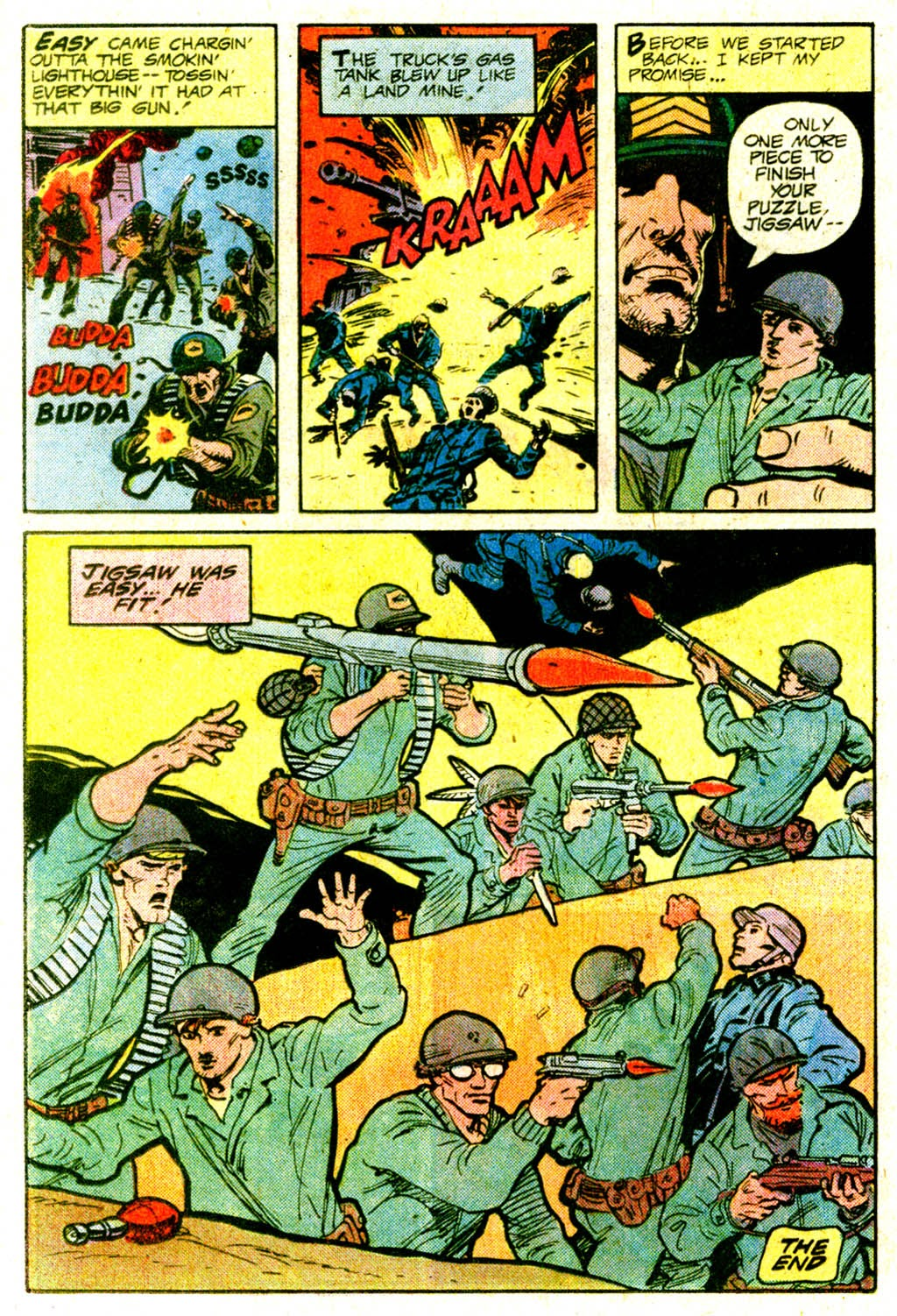 Read online Sgt. Rock comic -  Issue #365 - 19