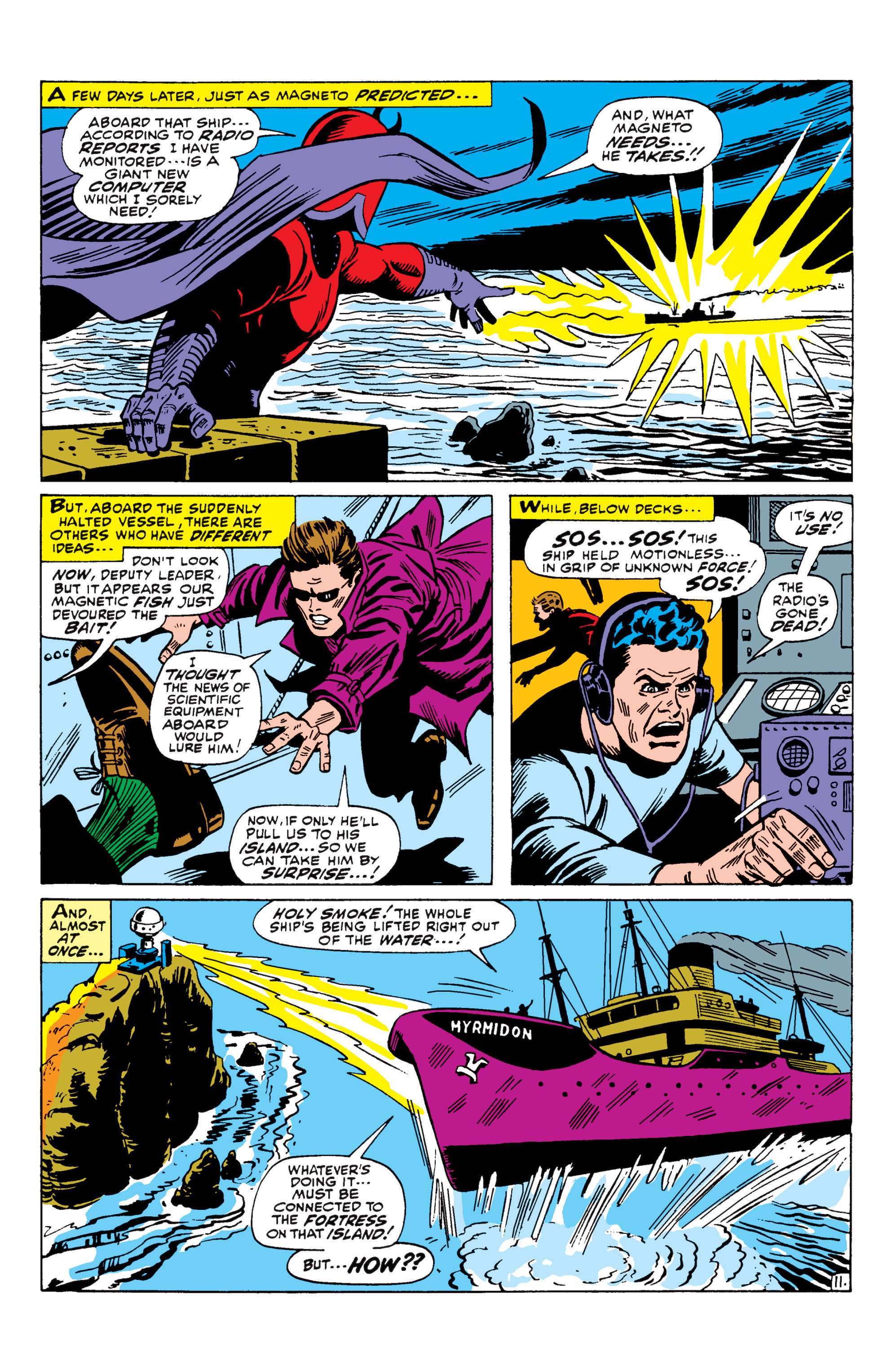 Read online Uncanny X-Men (1963) comic -  Issue #43 - 12