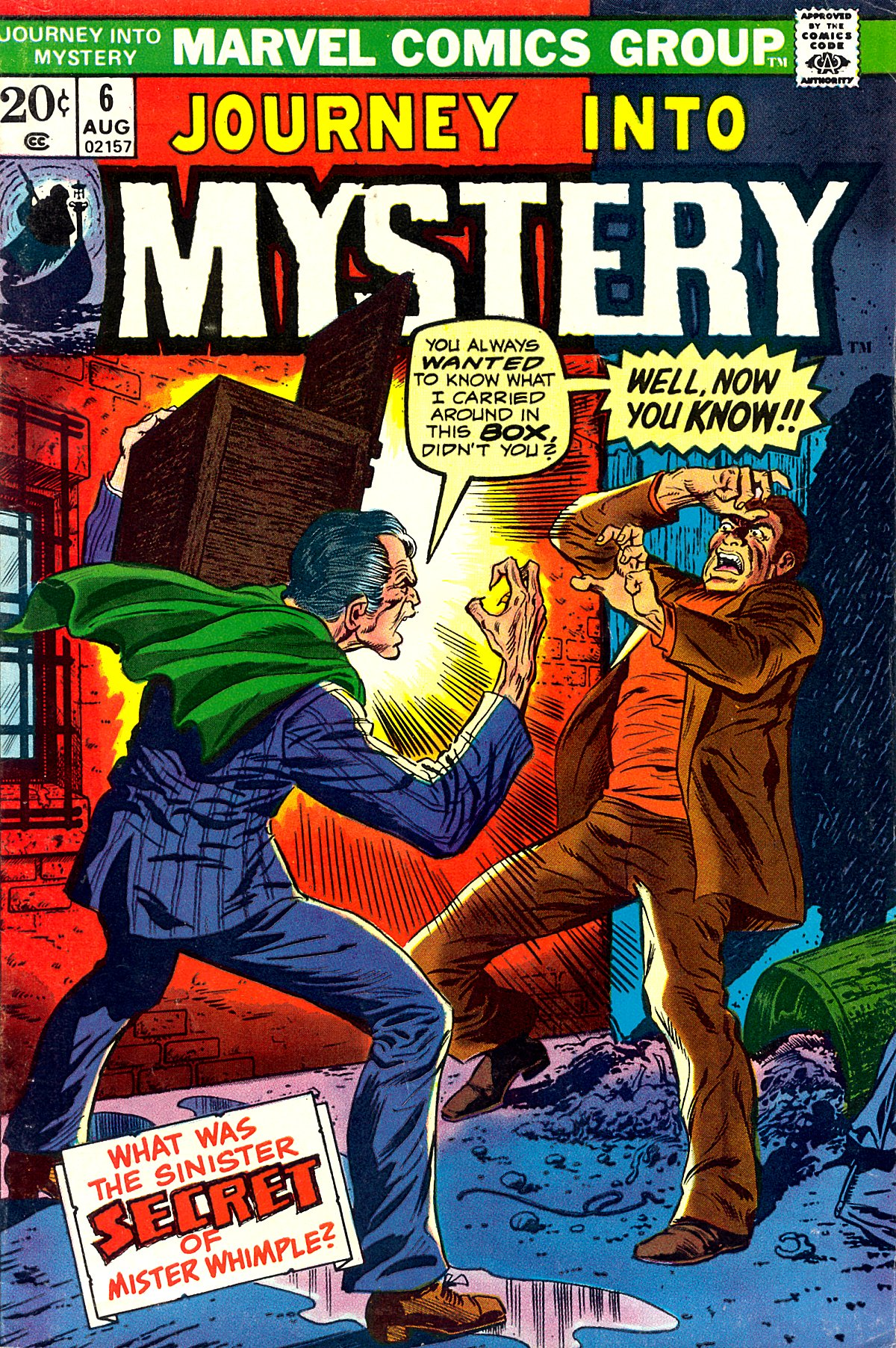 Journey Into Mystery (1972) 6 Page 1
