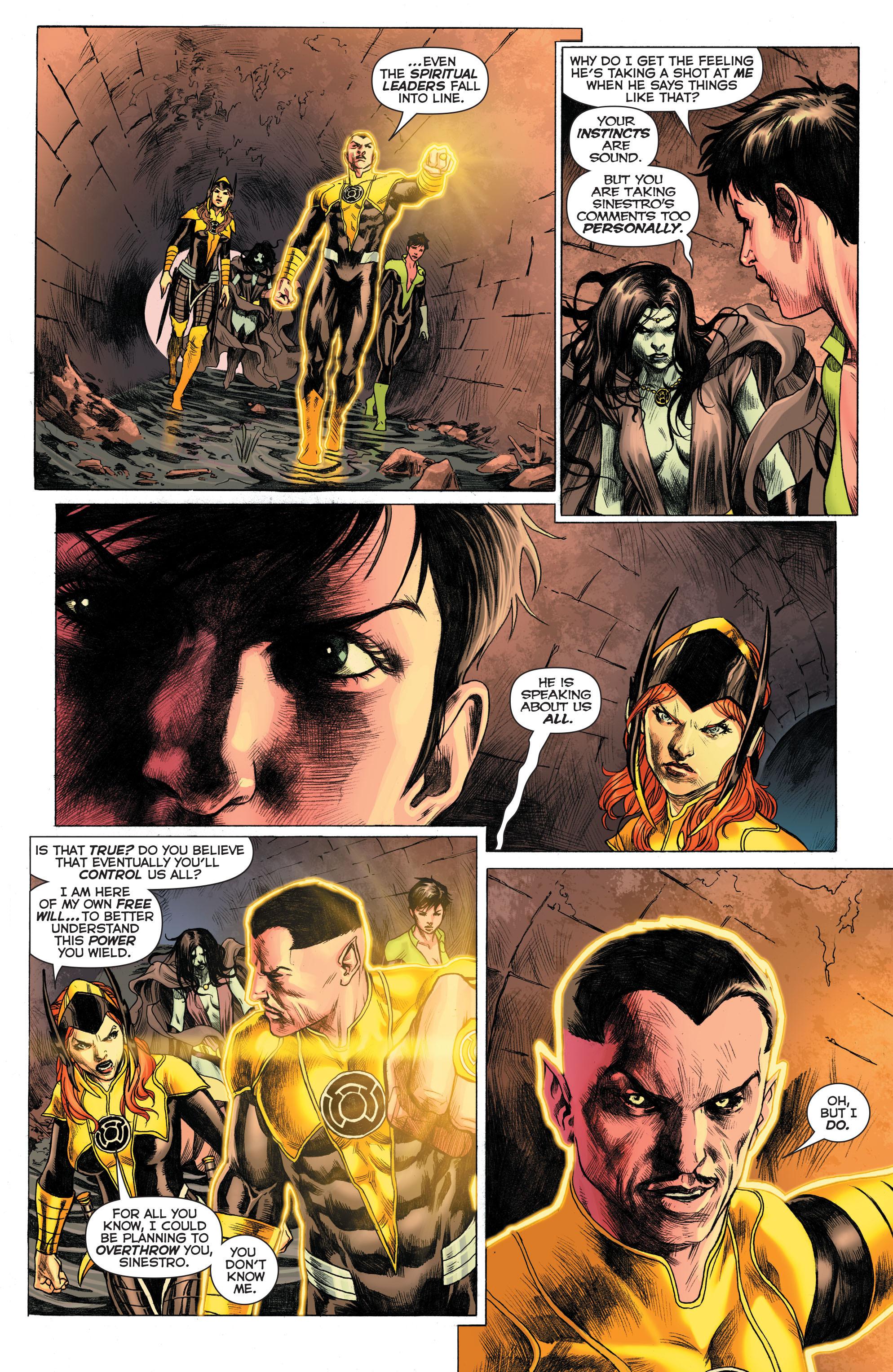 Read online Sinestro comic -  Issue # Annual 1 - 8