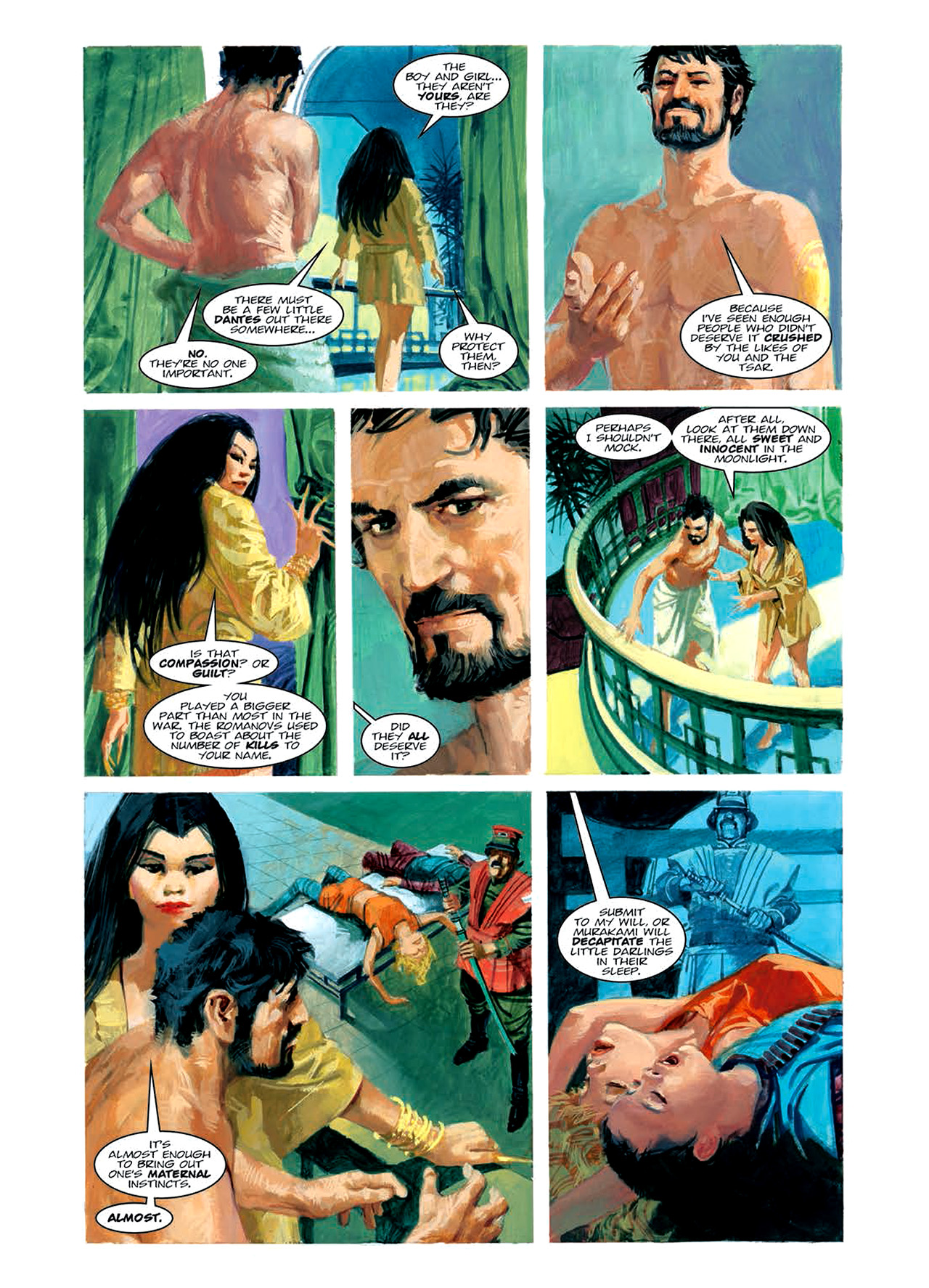 Read online Nikolai Dante comic -  Issue # TPB 6 - 113