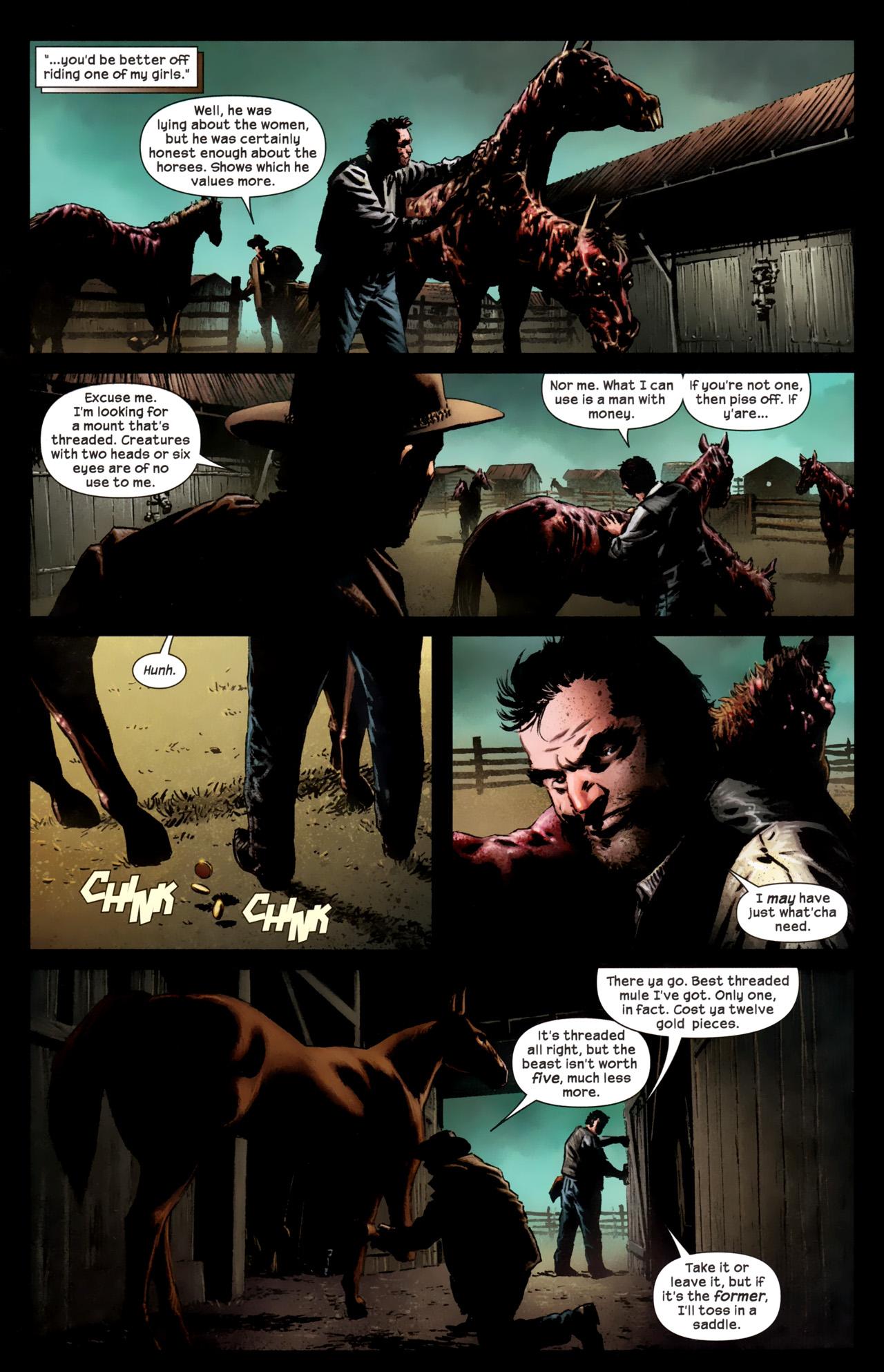 Read online Dark Tower: The Gunslinger - The Battle of Tull comic -  Issue #1 - 7