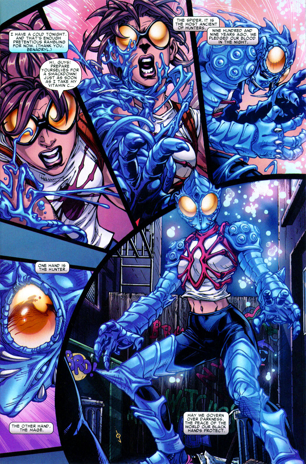 Read online Araña: Heart of the Spider comic -  Issue #1 - 4