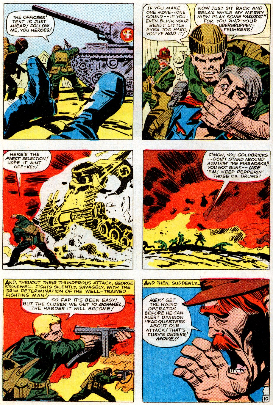 Read online Sgt. Fury comic -  Issue # _Special 5 - 12