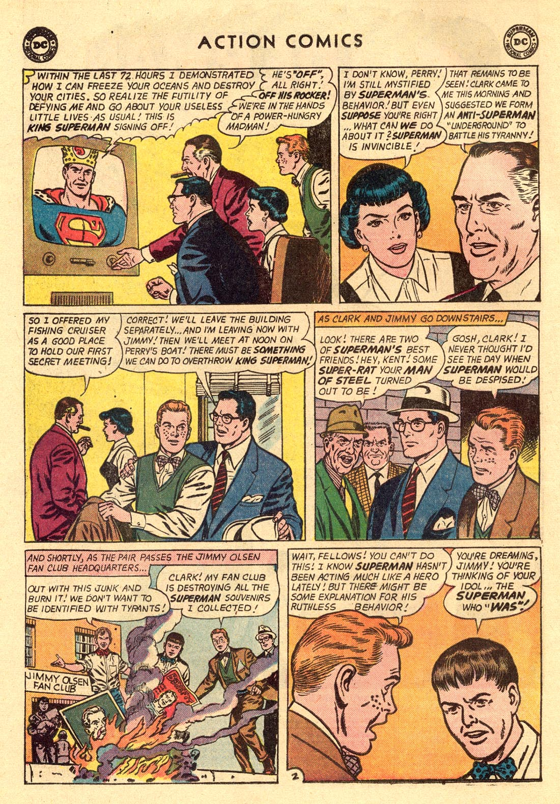Read online Action Comics (1938) comic -  Issue #312 - 4