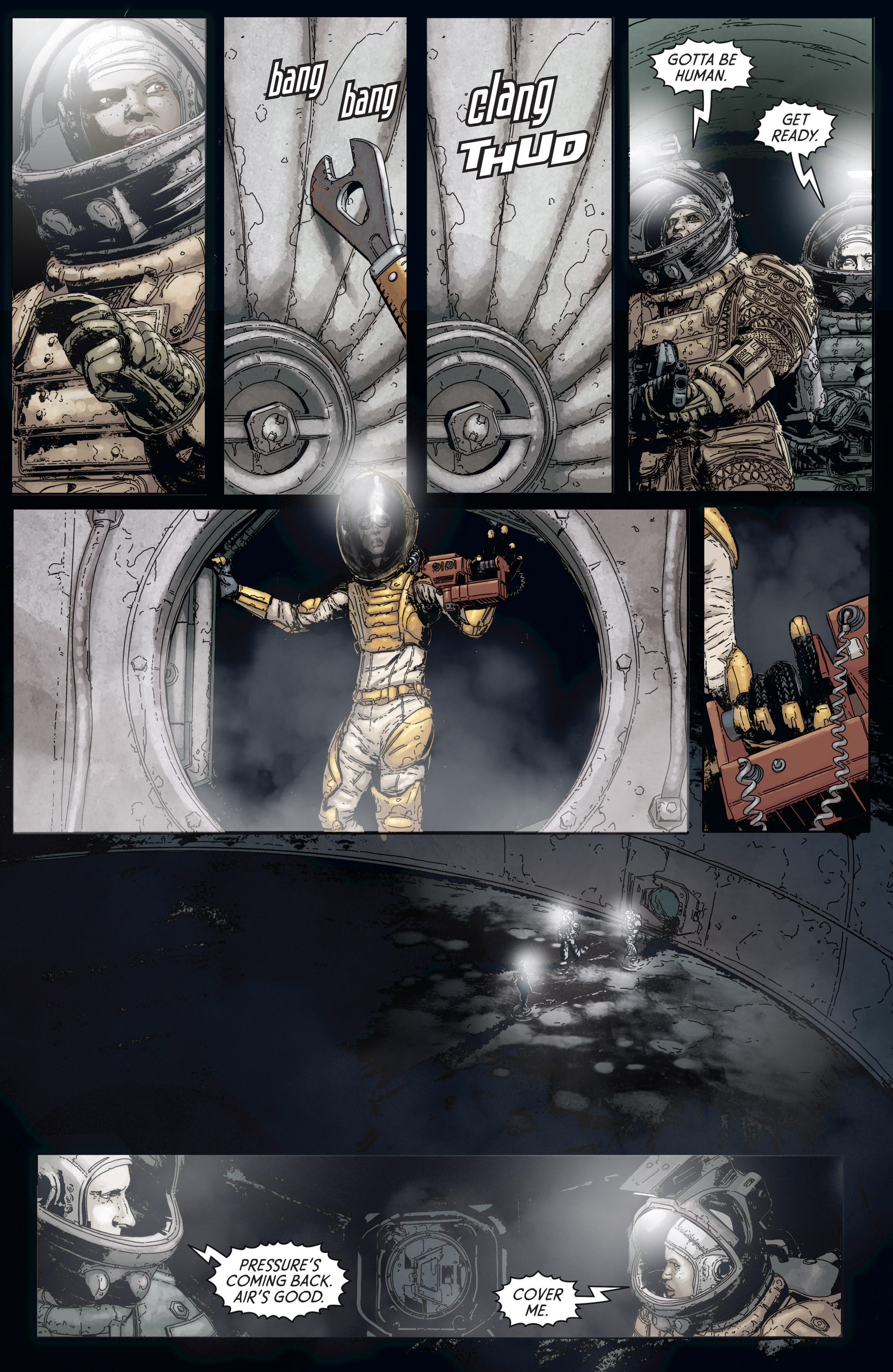 Read online Aliens: Defiance comic -  Issue #5 - 11