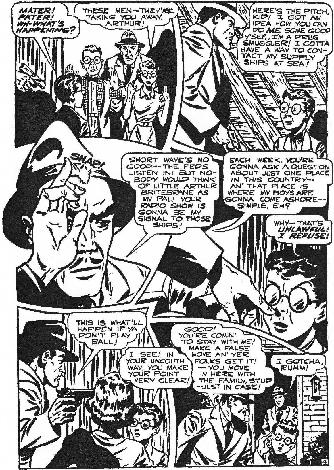 Read online Men of Mystery Comics comic -  Issue #84 - 38
