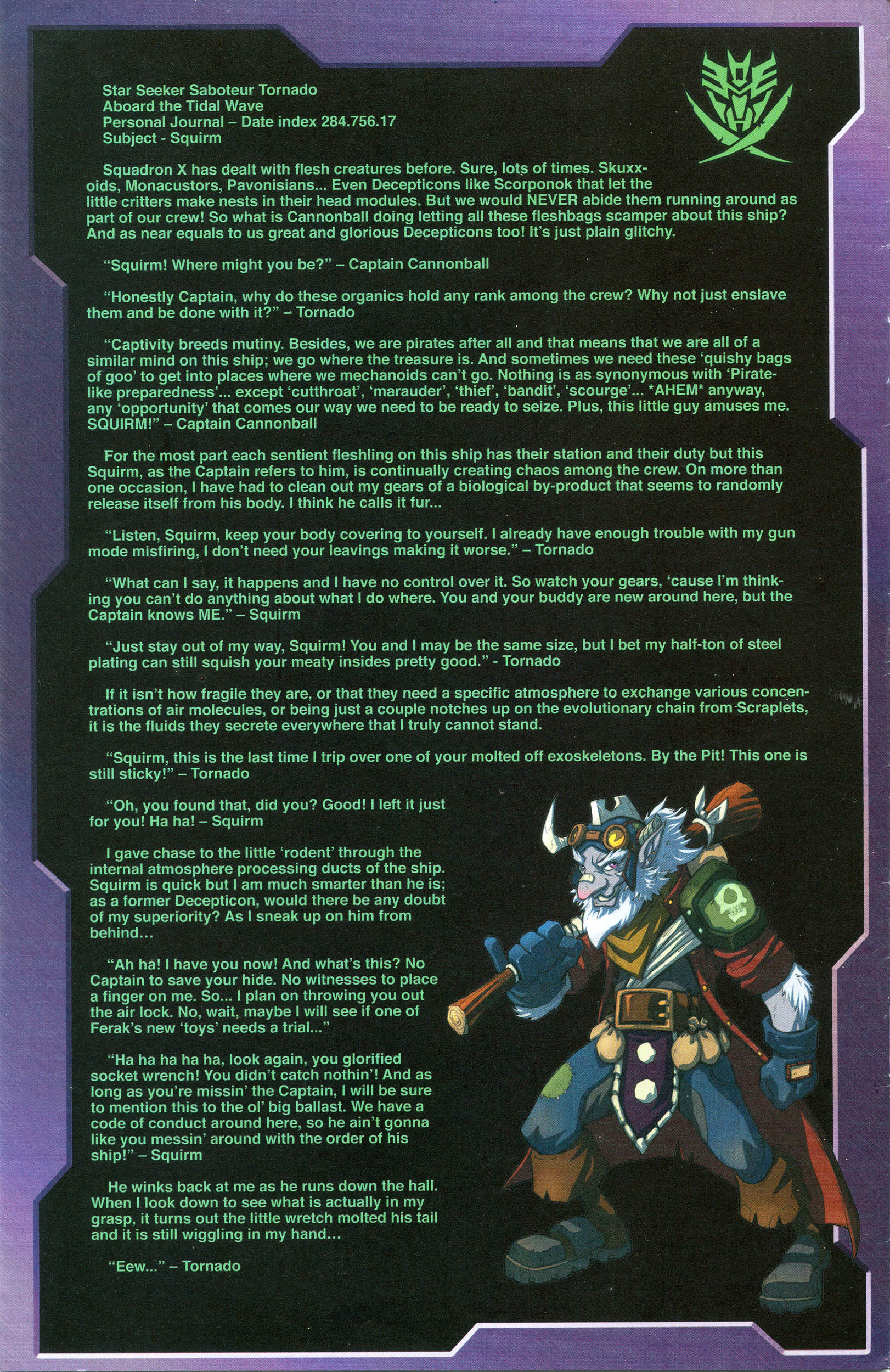 Read online Transformers: Collectors' Club comic -  Issue #56 - 14