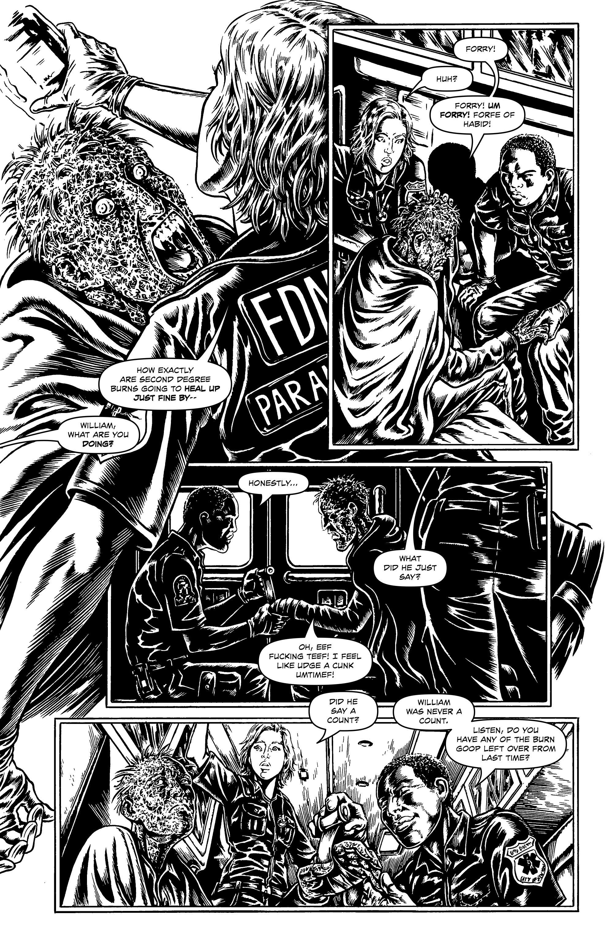Read online Alan Moore's Cinema Purgatorio comic -  Issue #1 - 18