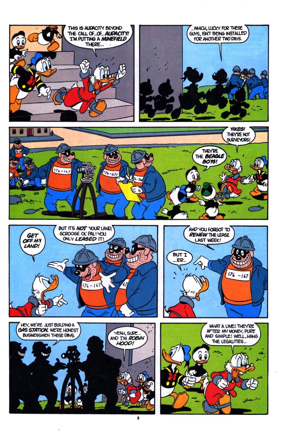 Read online Uncle Scrooge (1953) comic -  Issue #254 - 4