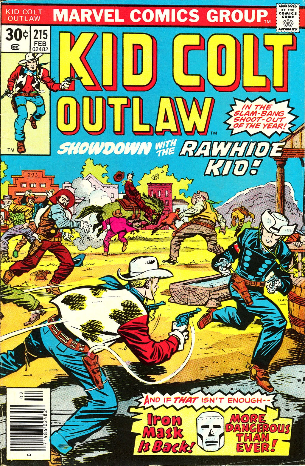 Kid Colt Outlaw issue 215 - Page 1