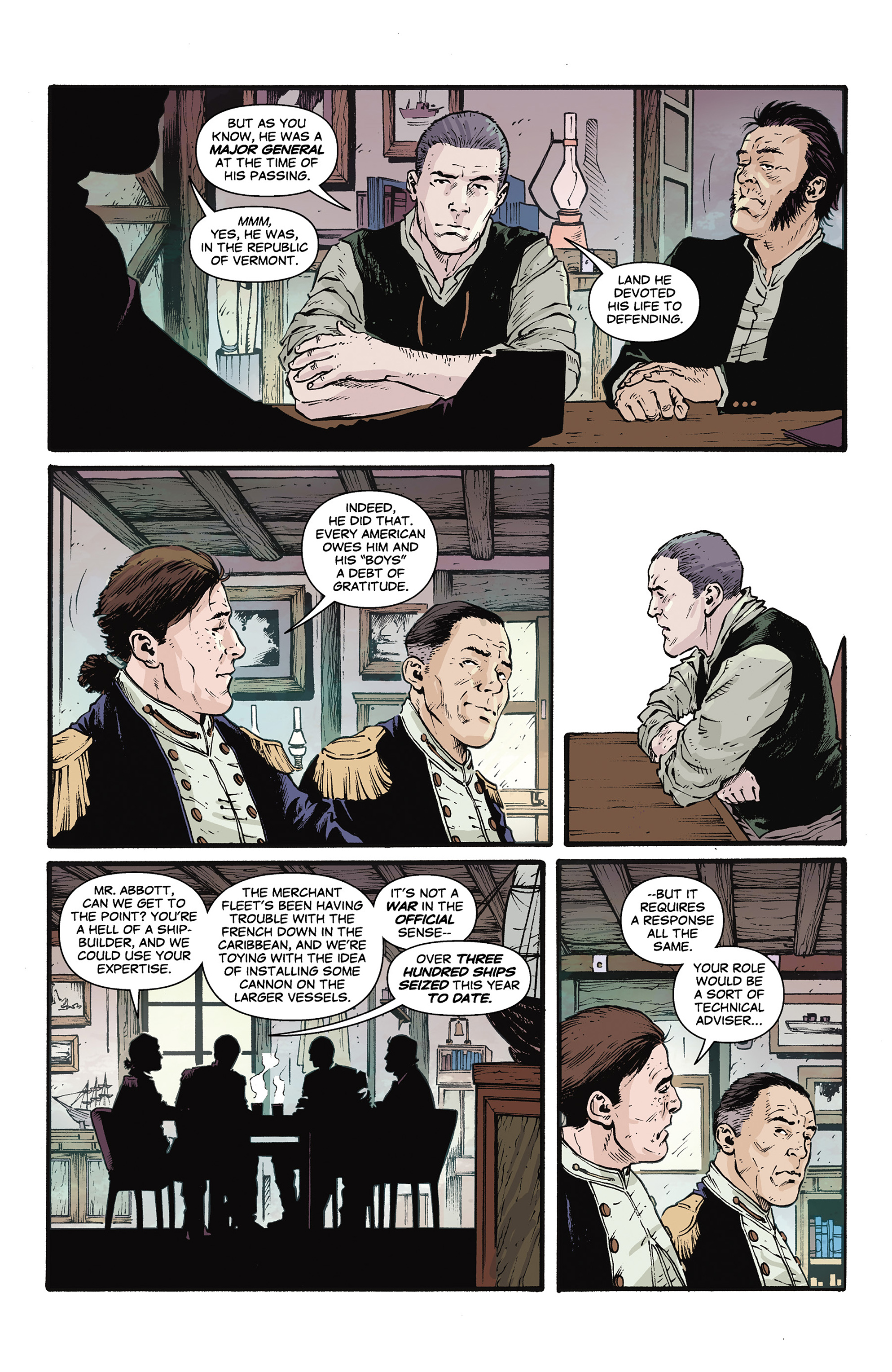 Read online Rebels: These Free and Independent States comic -  Issue #3 - 13