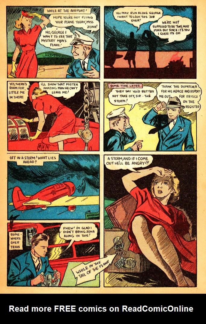 Read online Amazing Man Comics comic -  Issue #12 - 7