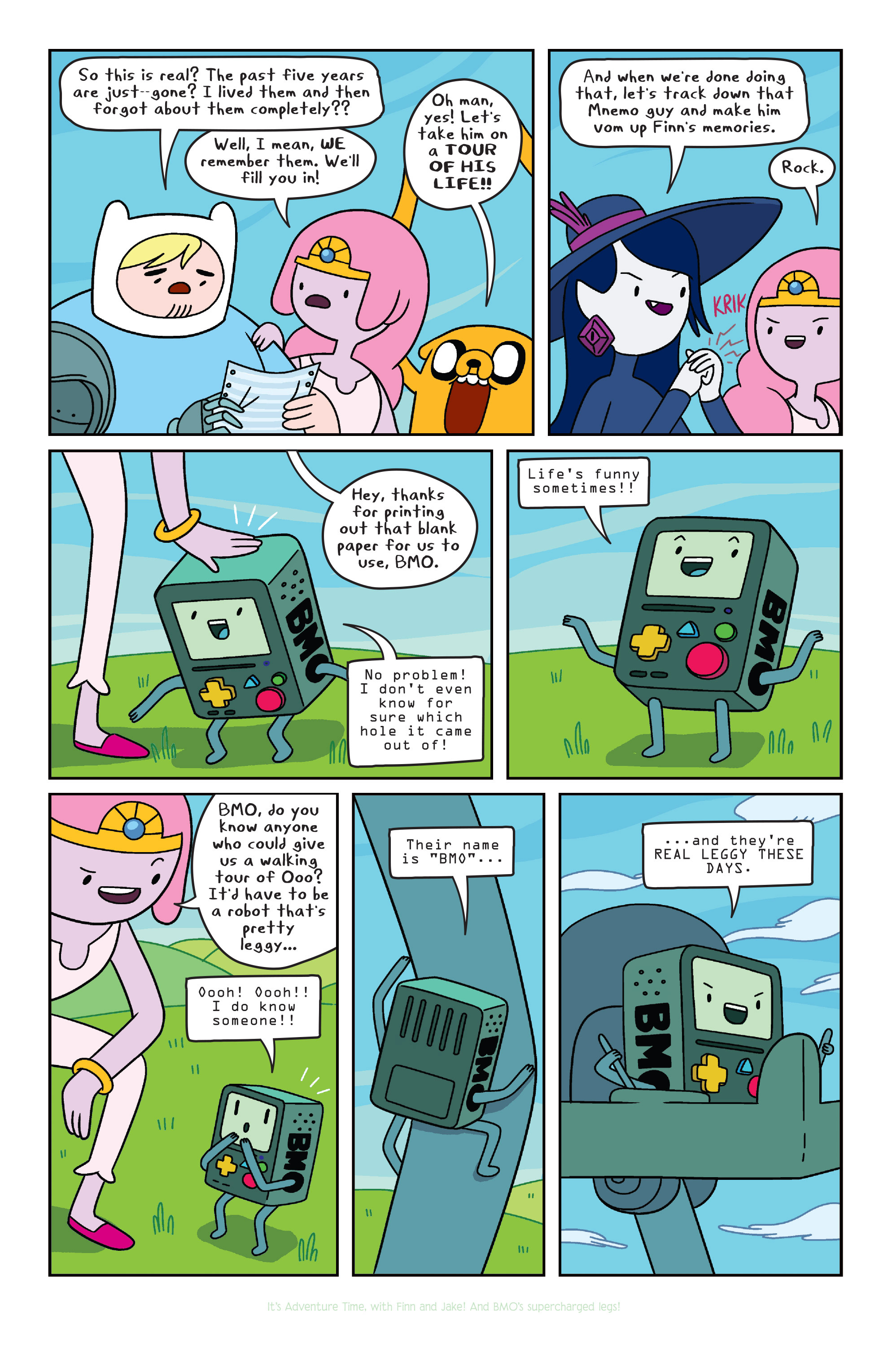 Read online Adventure Time comic -  Issue #32 - 9