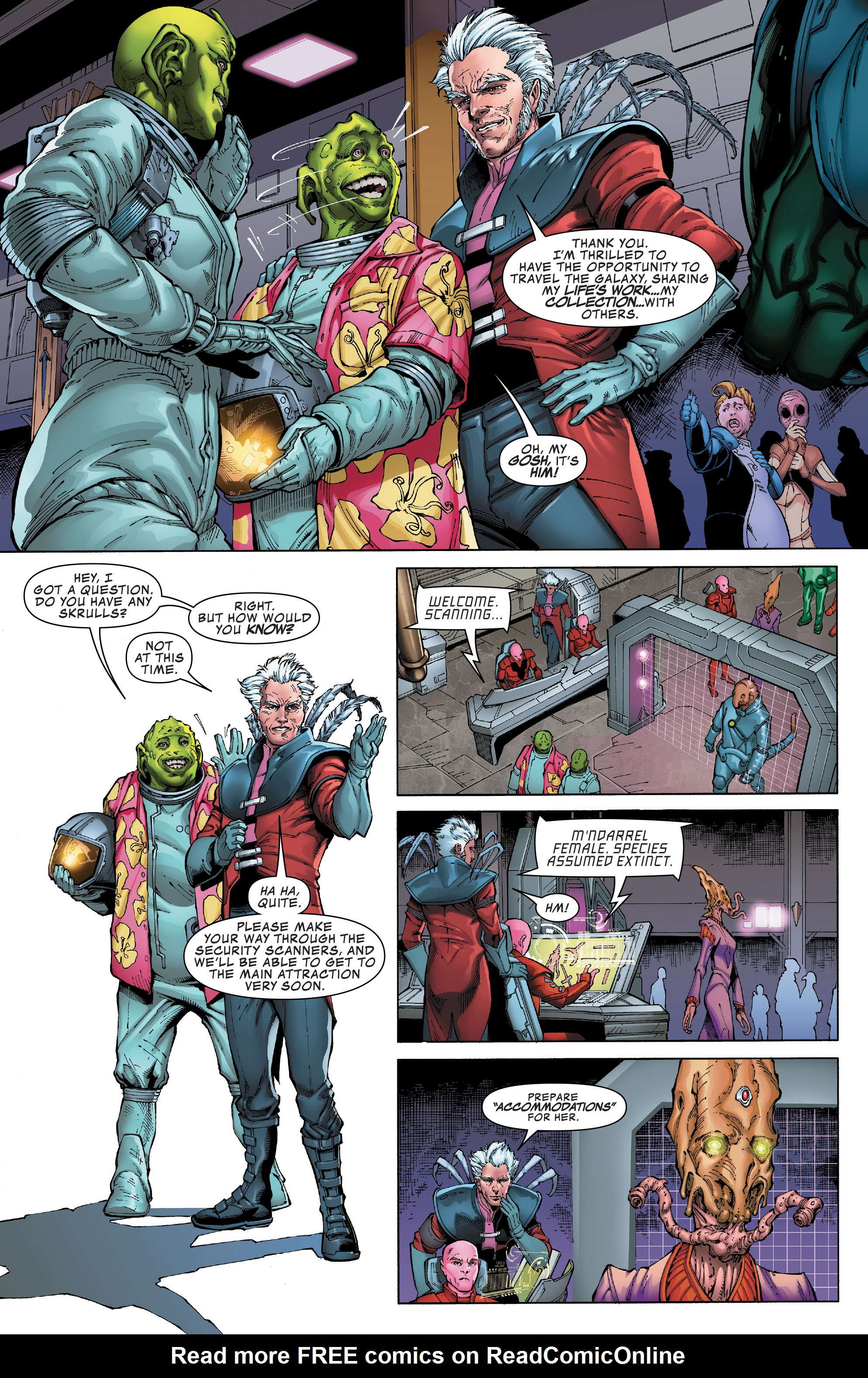 Read online Guardians of the Galaxy: Mission Breakout comic -  Issue # Full - 4