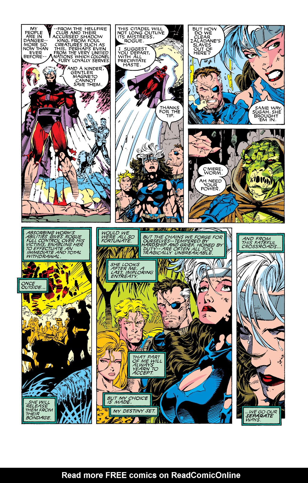 Uncanny X-Men (1963) issue 275 - Page 33