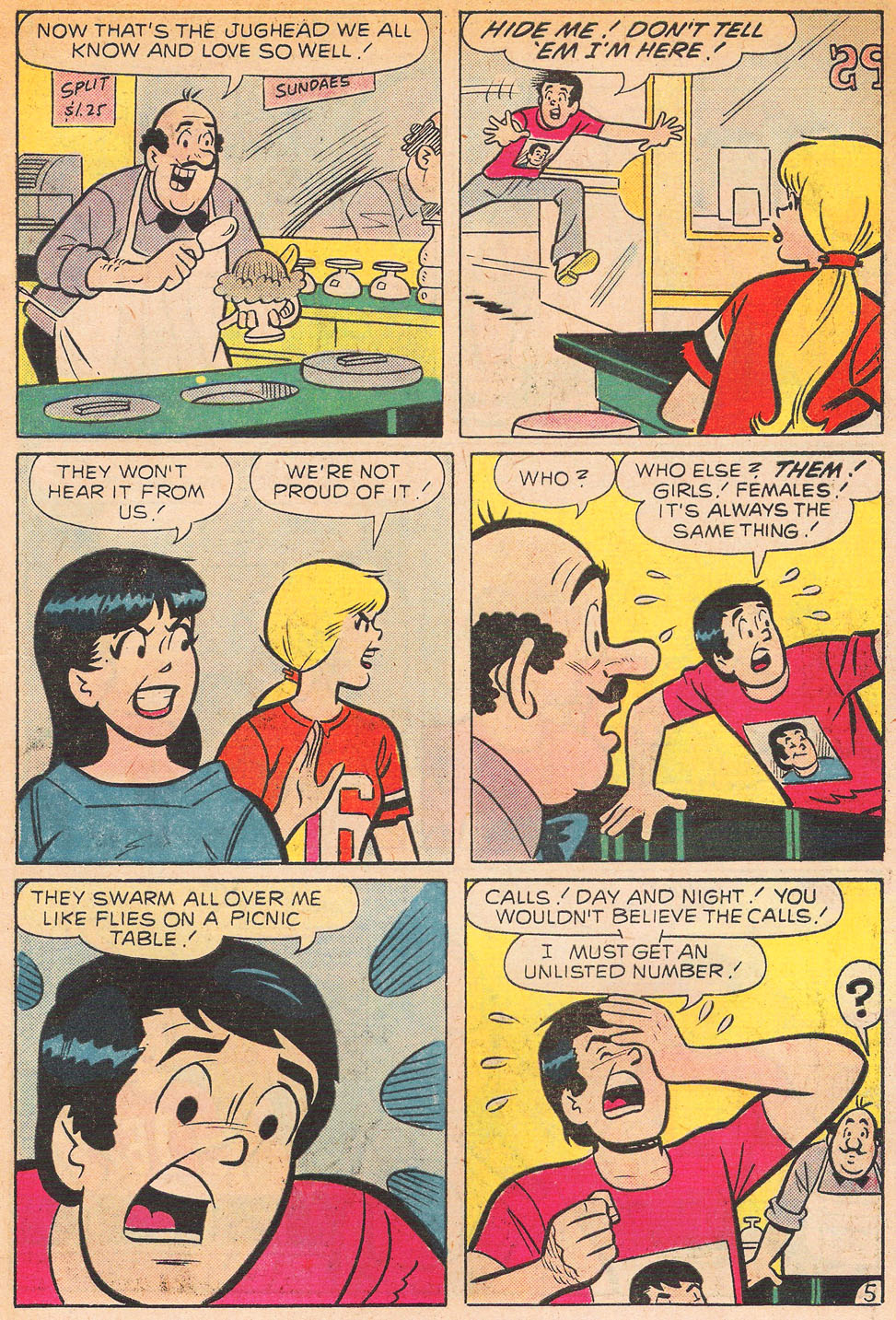 Read online Archie's Girls Betty and Veronica comic -  Issue #239 - 7