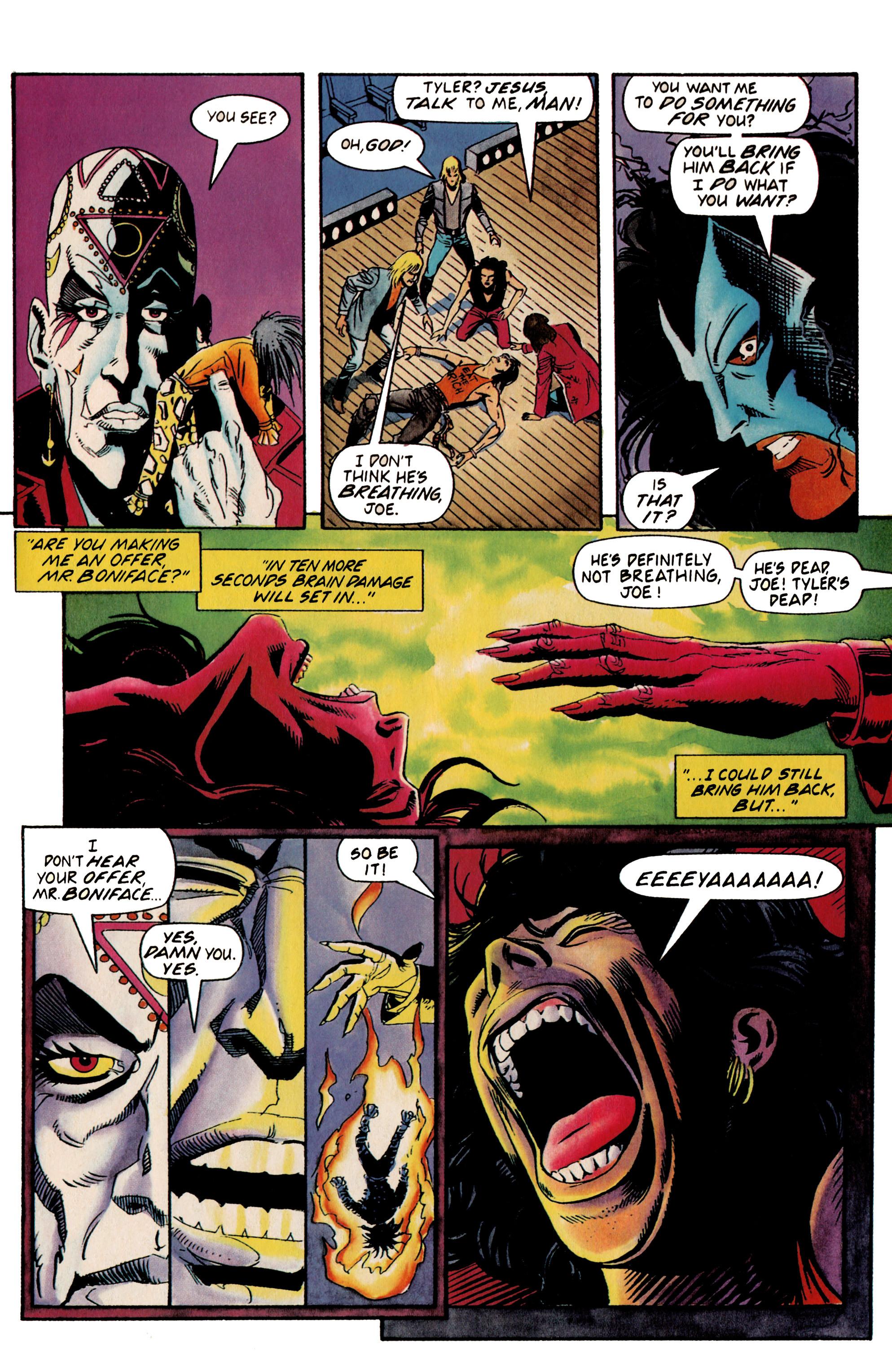 Read online Shadowman (1992) comic -  Issue #19 - 22
