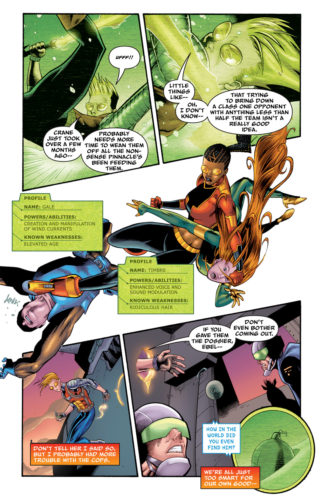 Read online The Many Adventures of Miranda Mercury: Time Runs Out comic -  Issue # TPB - 104