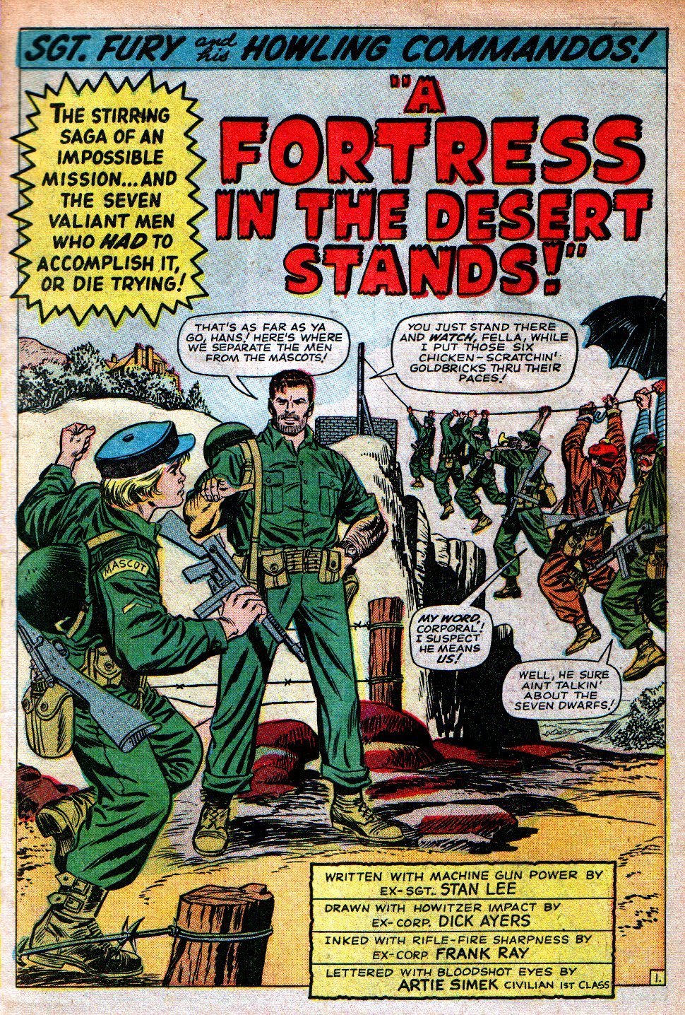 Read online Sgt. Fury comic -  Issue #16 - 3